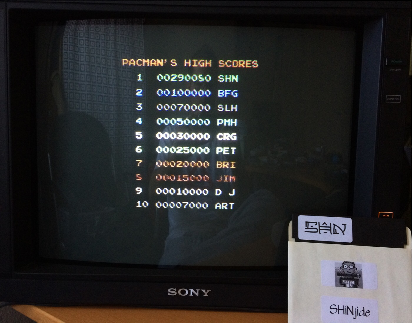 SHiNjide: Pacmania (Commodore 64) 290,080 points on 2014-08-28 05:31:03