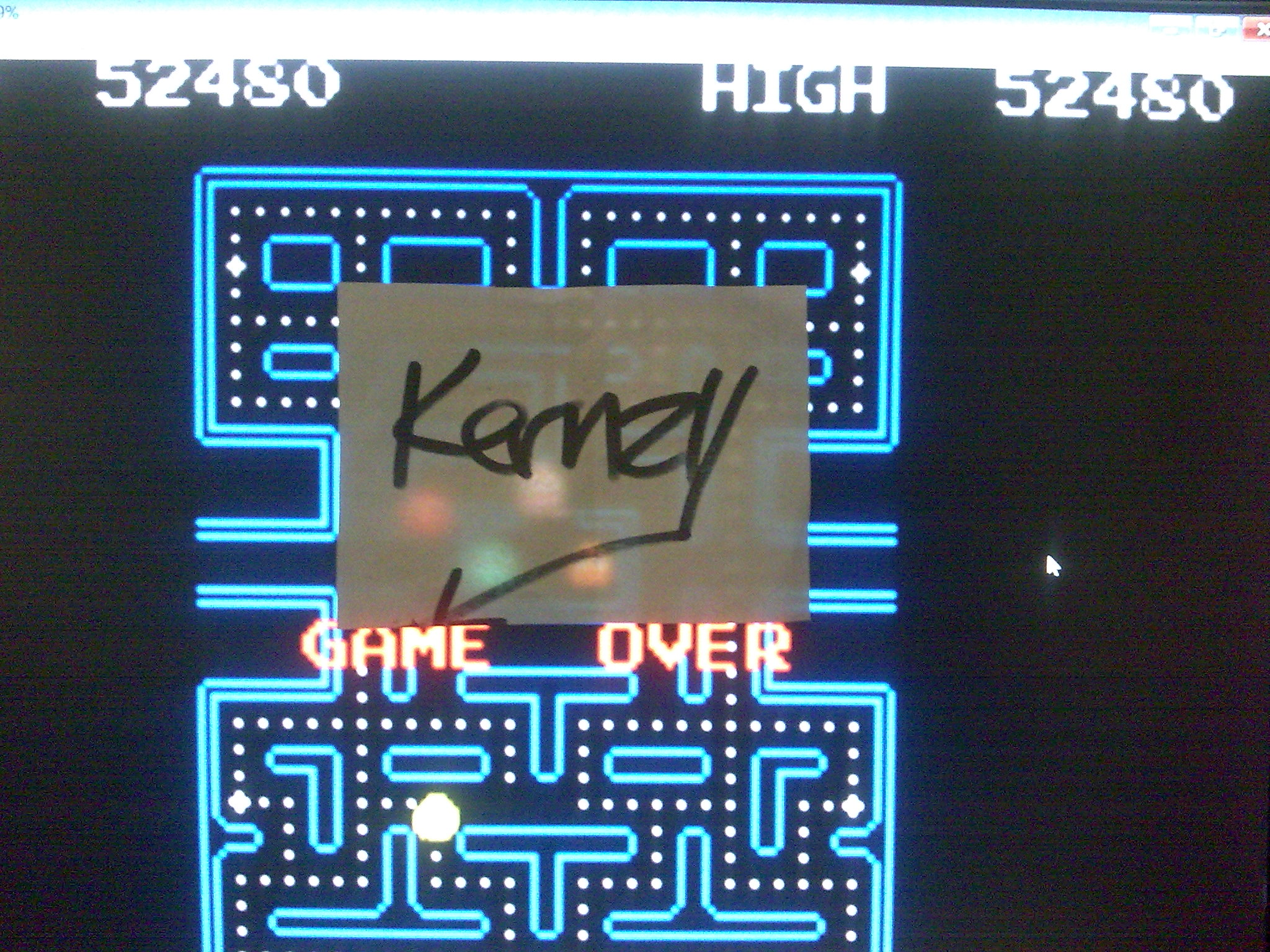 kernzy: Pac-Man Collection: Pac-Man (GBA Emulated) 52,480 points on 2014-08-28 07:44:06