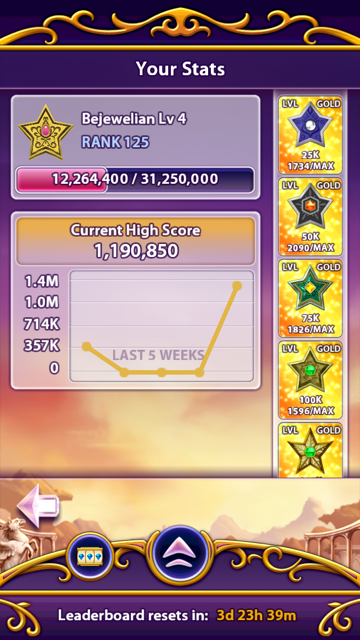 kri5bell: Bejeweled Blitz (iOS) 1,190,850 points on 2014-08-29 12:24:54