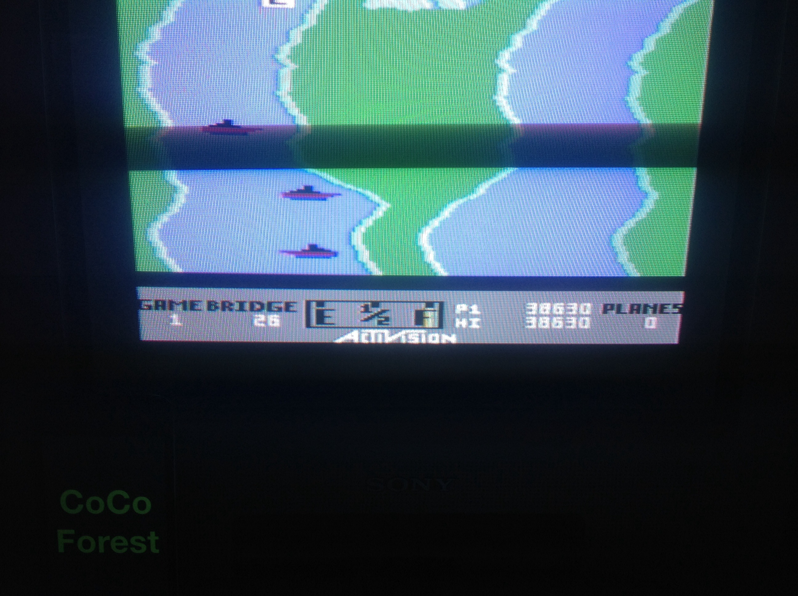 CoCoForest: River Raid (Commodore 64) 38,630 points on 2014-08-29 13:42:31