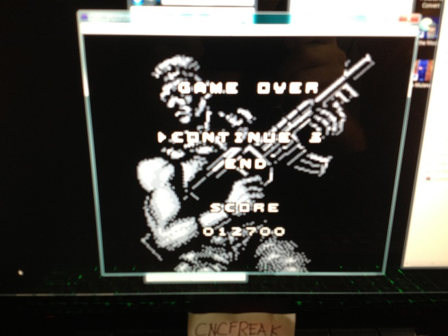 Contra: The Alien Wars 12,700 points