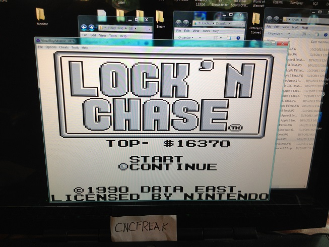 Lock N Chase 16,370 points