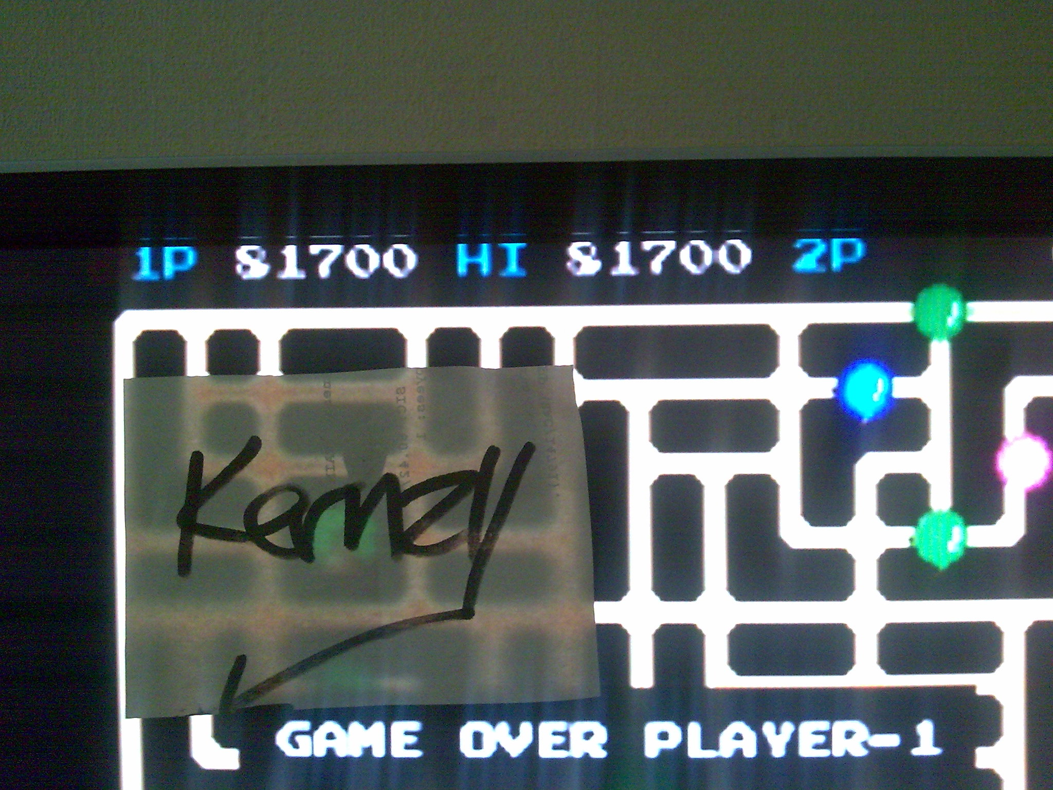 kernzy: Van-Van Car [vanvanb] (Arcade Emulated / M.A.M.E.) 81,700 points on 2014-08-30 05:08:29