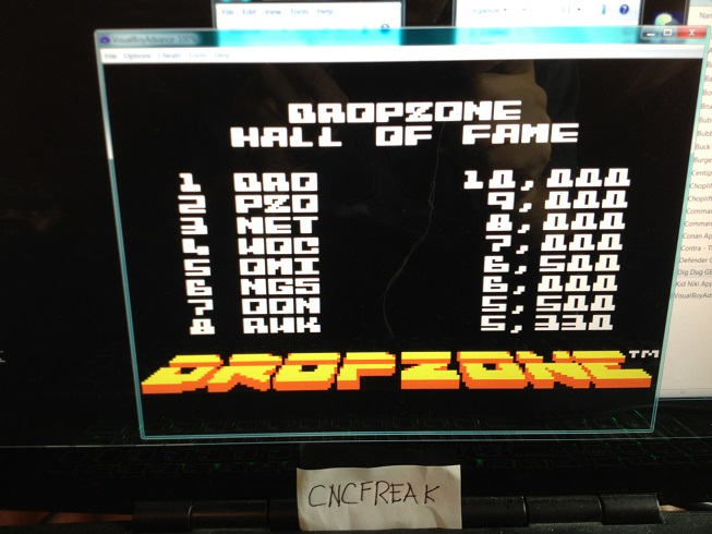 Dropzone 5,330 points