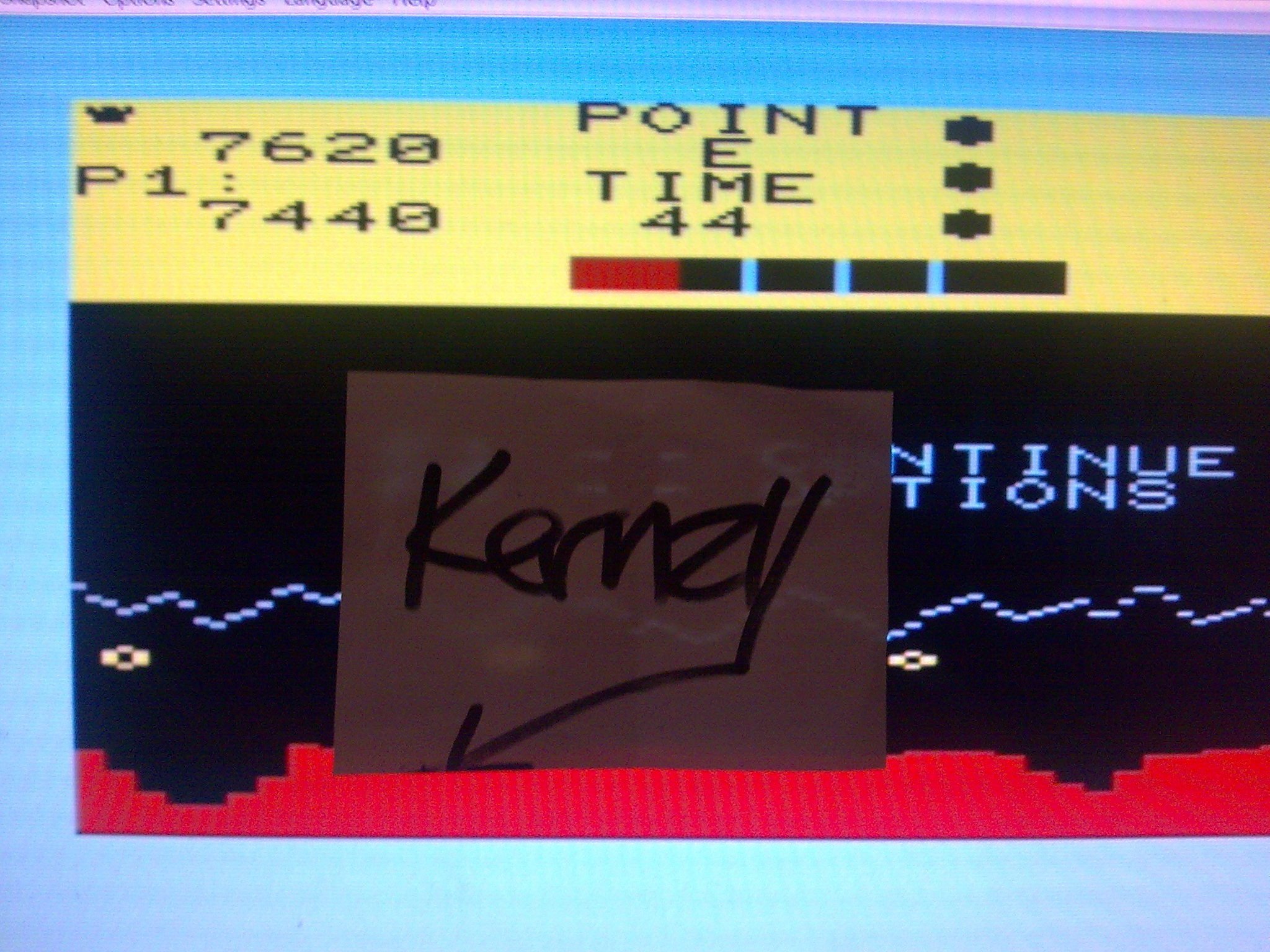 kernzy: Moon Patrol (Commodore VIC-20 Emulated) 7,440 points on 2014-08-30 09:07:19