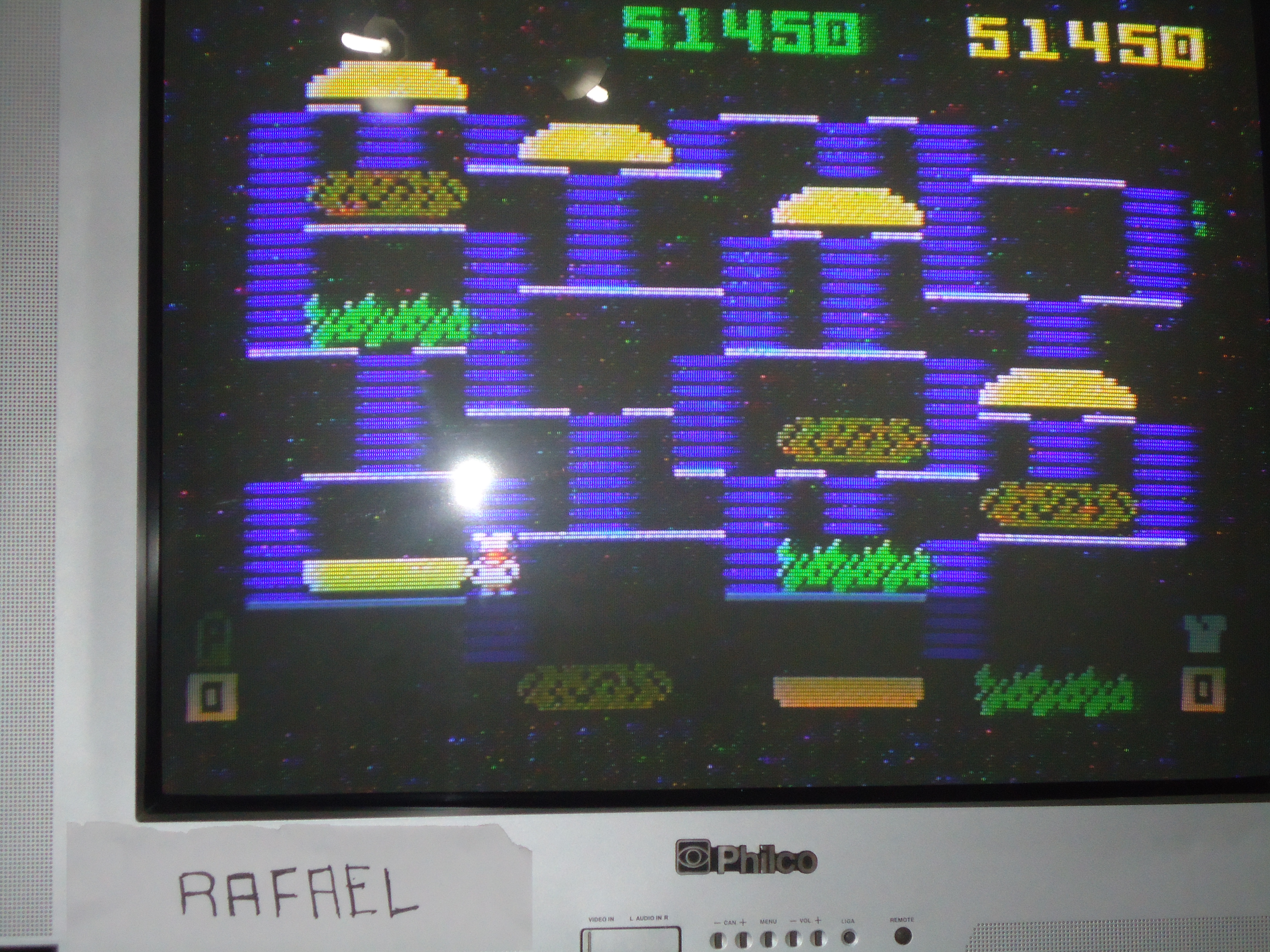 rafael: BurgerTime (Intellivision) 51,450 points on 2014-08-30 15:20:32