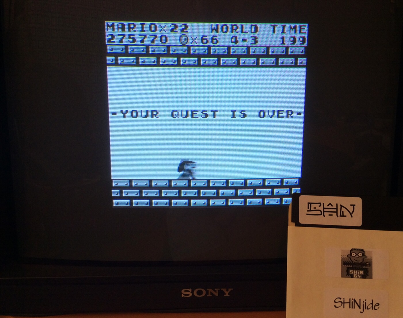 Super Mario Land 275,770 points