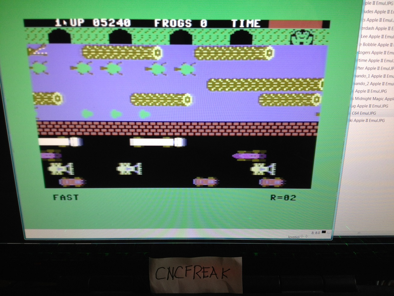 Frogger: Parker Bros [Fast] 5,240 points