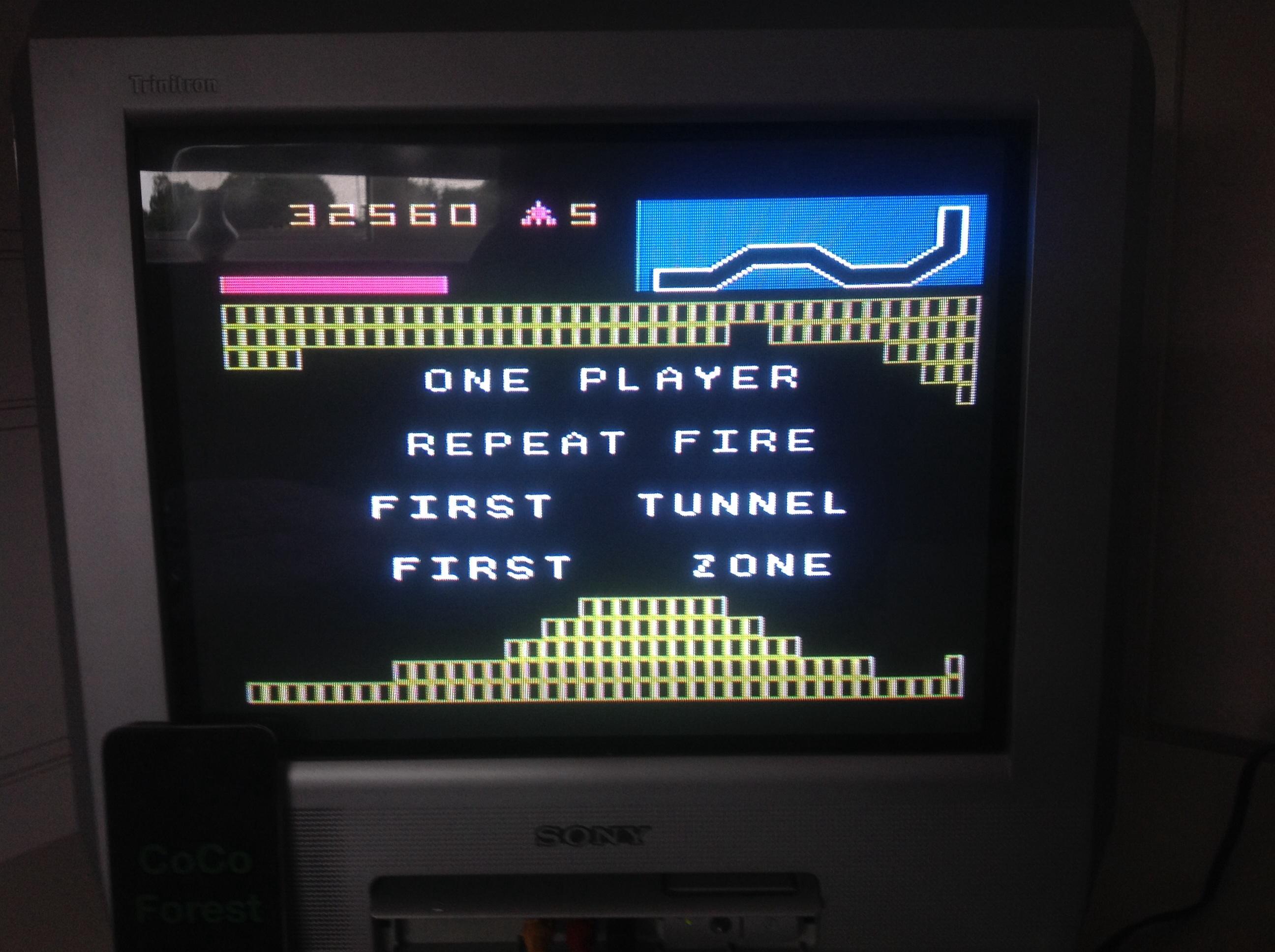 CoCoForest: Vanguard (Atari 5200) 32,560 points on 2014-09-01 09:41:00