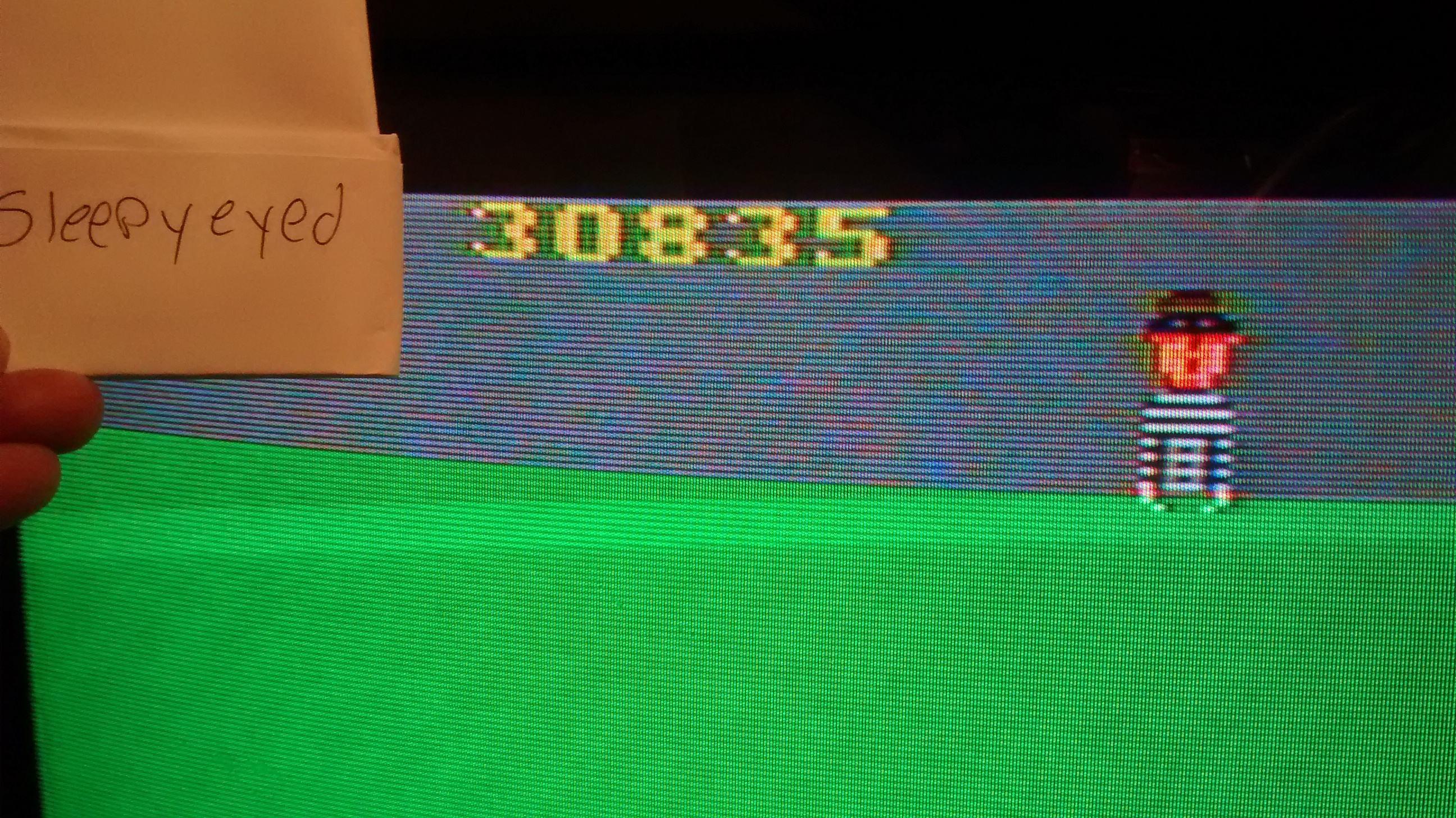sleepyeyed: Kaboom! (Atari 2600 Novice/B) 30,835 points on 2014-09-01 19:28:02