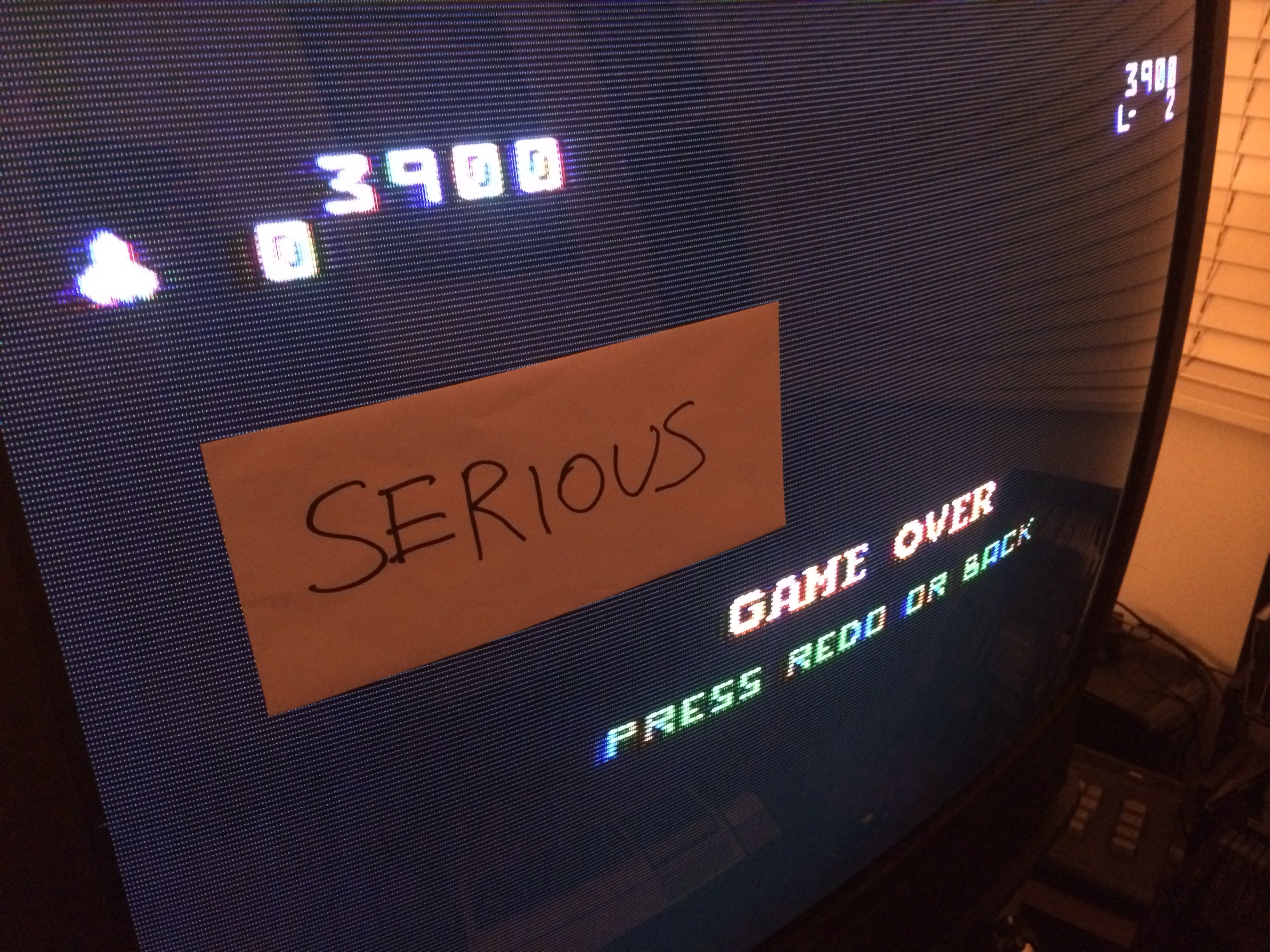 Serious: Super Demon Attack (TI 99/4A) 3,900 points on 2014-09-01 22:28:38