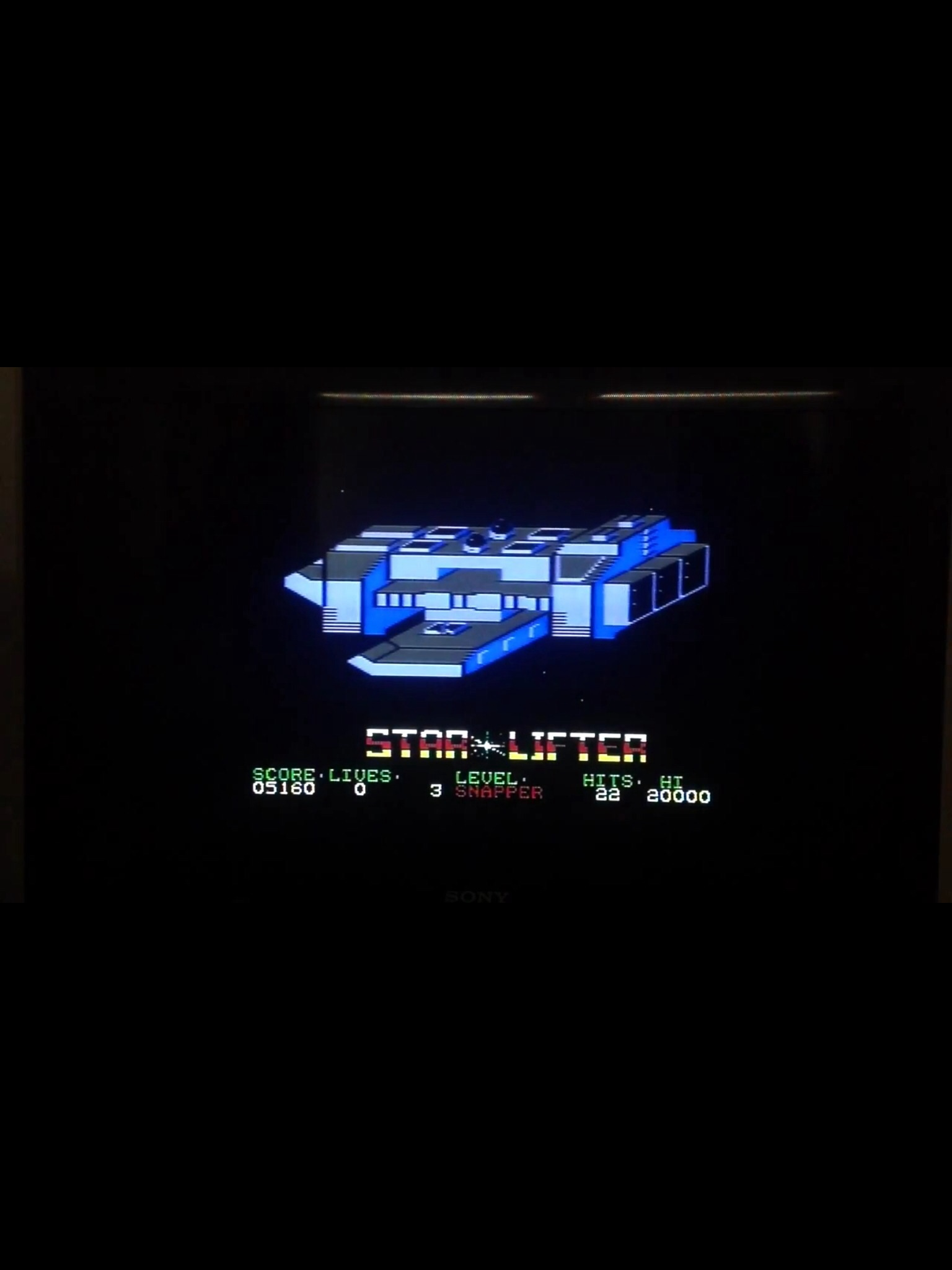 CoCoForest: Starlifter (Commodore 64) 5,160 points on 2014-09-05 12:21:15