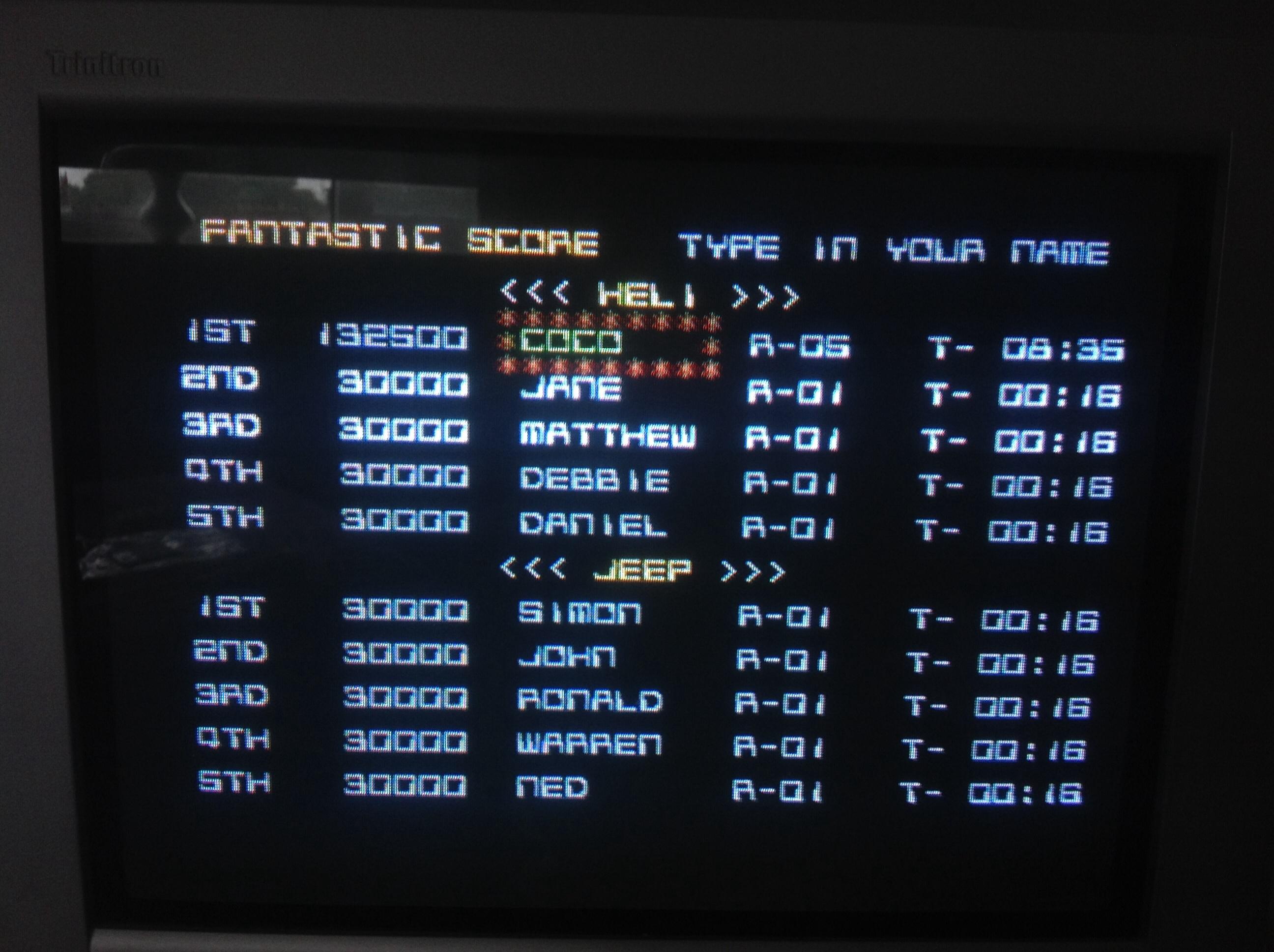 CoCoForest: Silkworm (Amiga) 132,500 points on 2014-09-06 04:38:05
