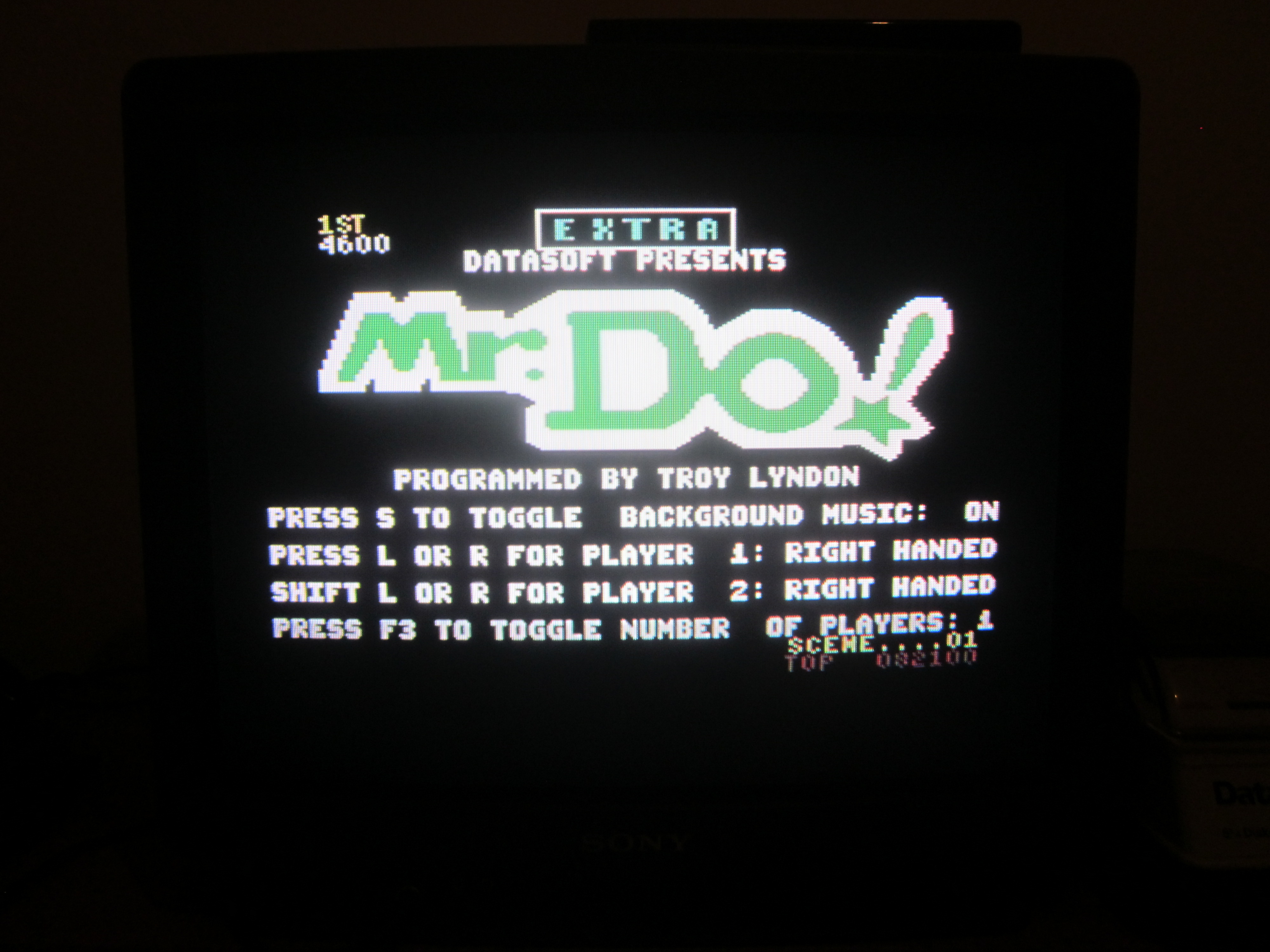 yaztromo: Mr. Do! (Commodore 64) 82,100 points on 2014-09-06 18:45:06