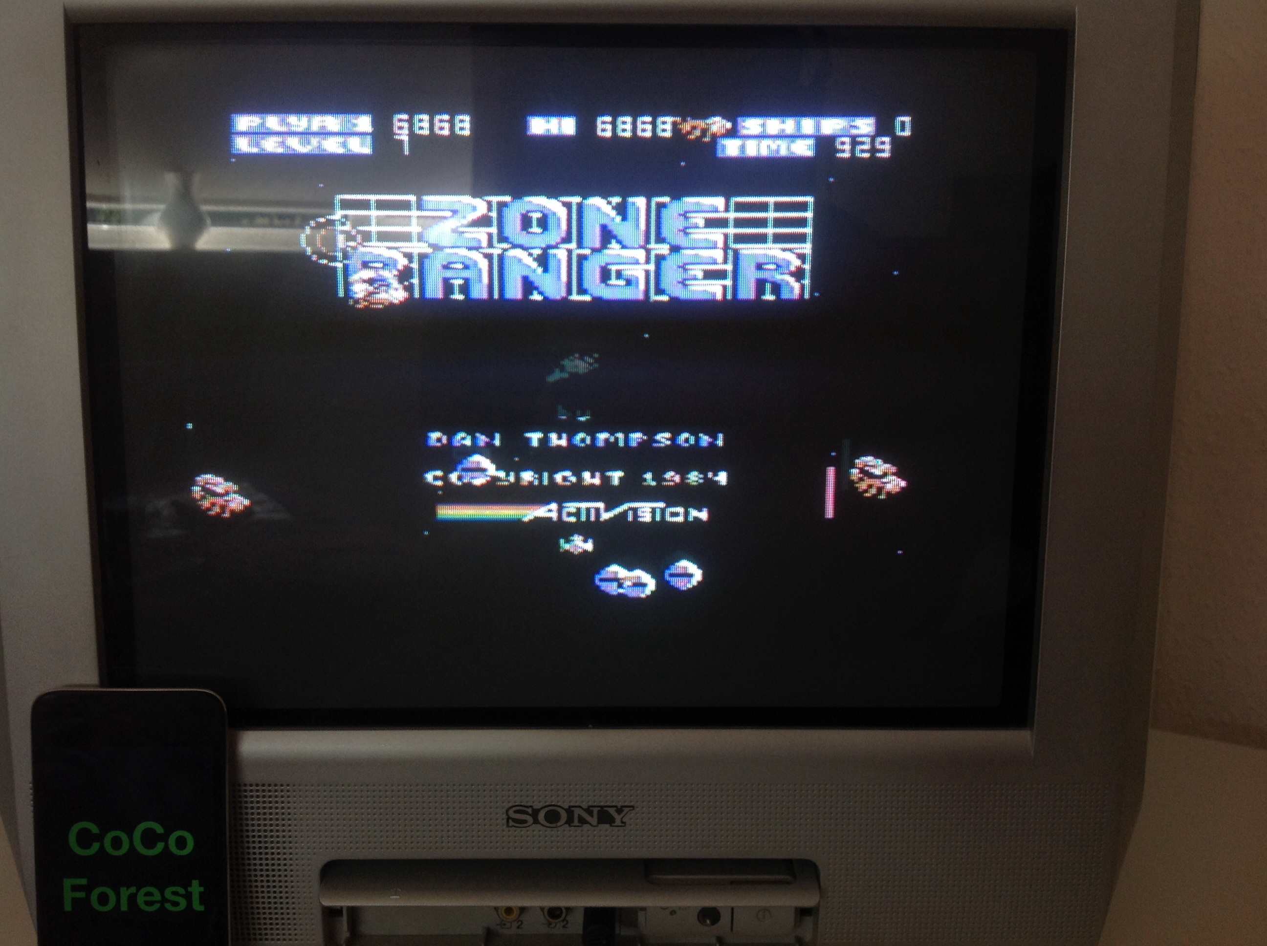 CoCoForest: Zone Ranger (Commodore 64) 6,868 points on 2014-09-07 08:00:26