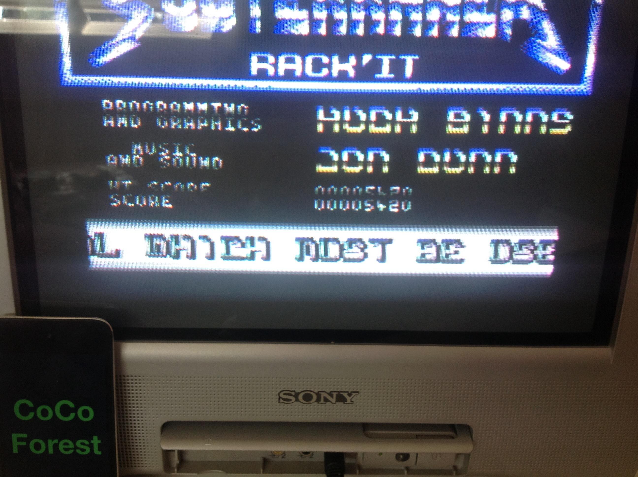 CoCoForest: Subterranea (Commodore 64) 5,420 points on 2014-09-07 08:11:19