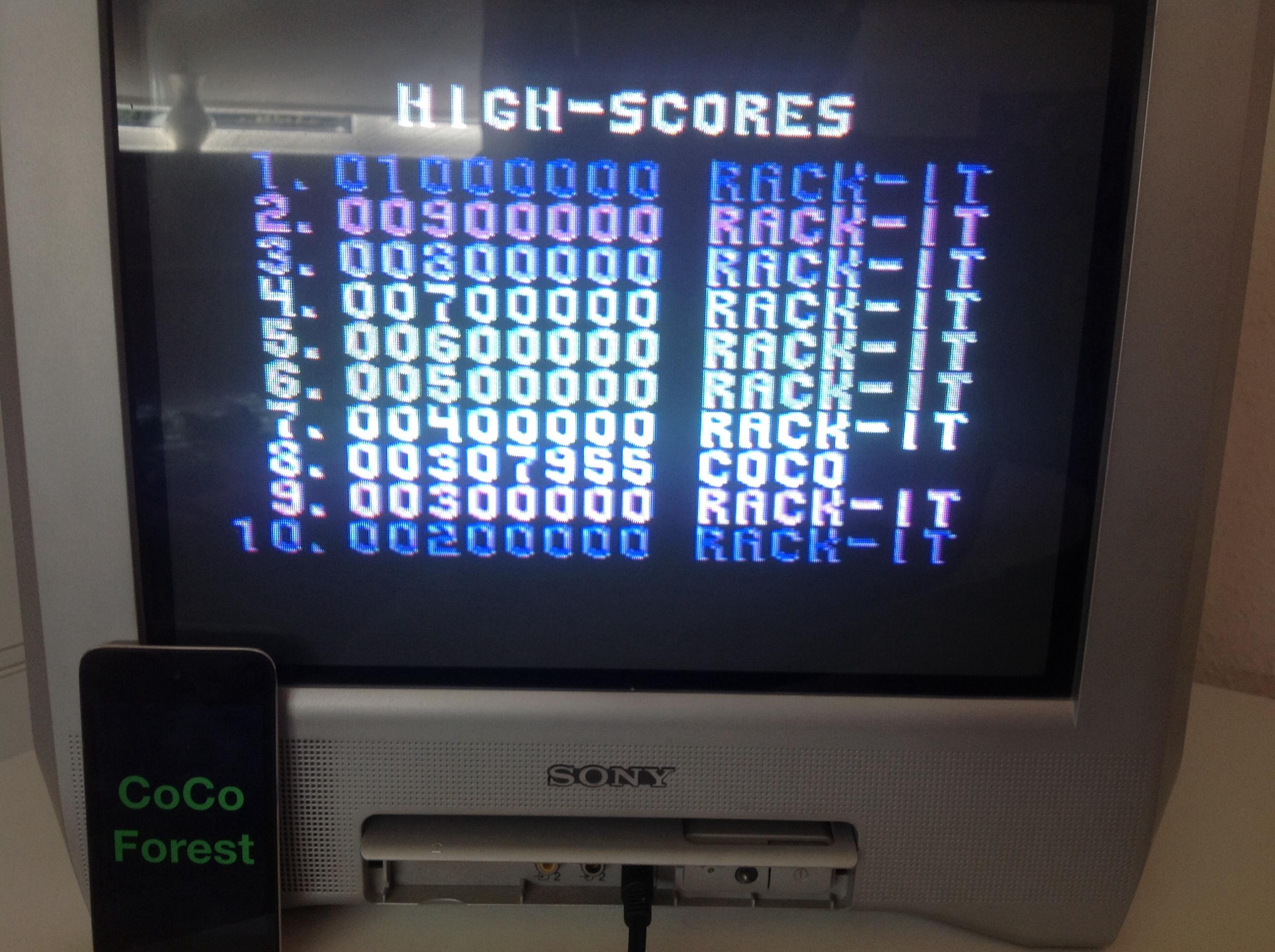 CoCoForest: Zamzara (Commodore 64) 307,955 points on 2014-09-07 08:29:34
