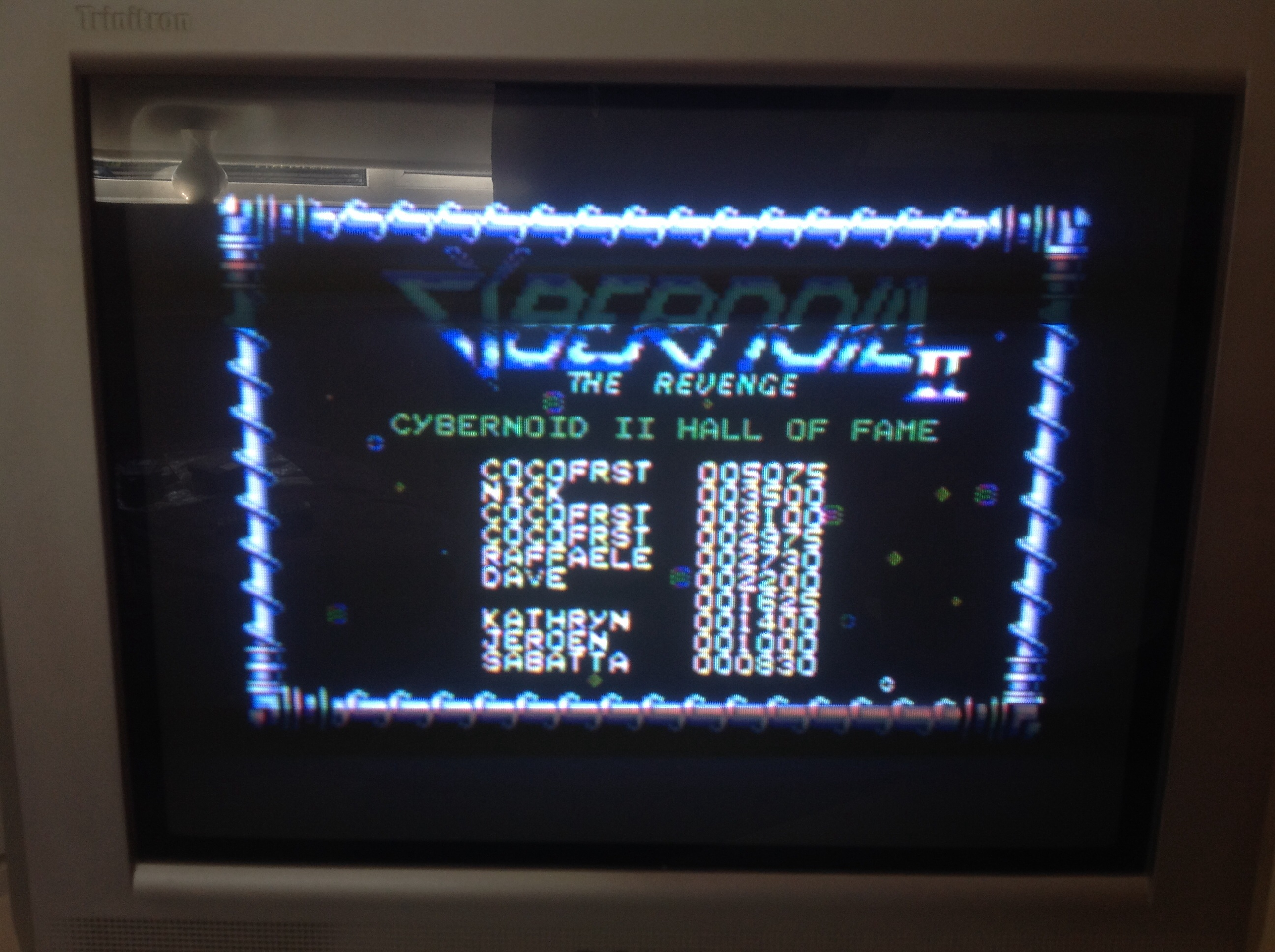 CoCoForest: Cybernoid 2 (Commodore 64) 5,075 points on 2014-09-07 09:43:46