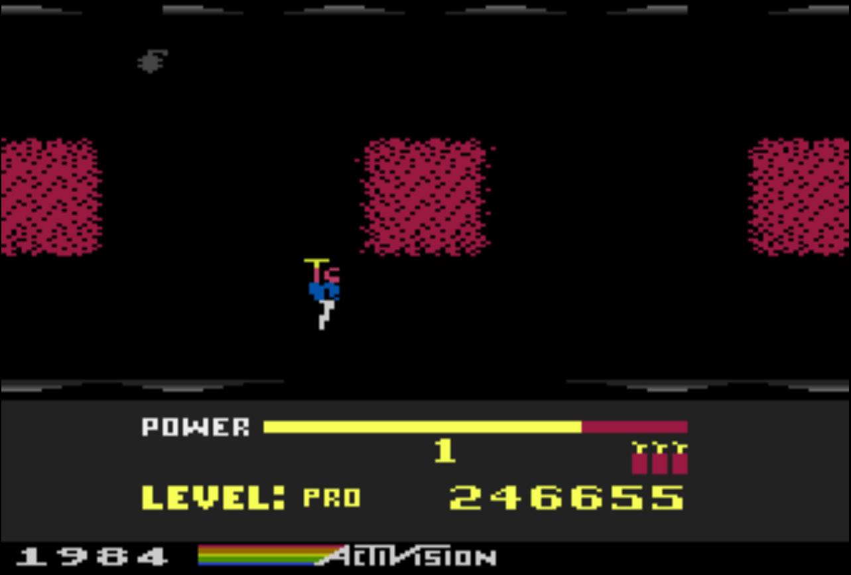 Liduario: H.E.R.O. (Atari 400/800/XL/XE Emulated) 246,655 points on 2014-09-07 20:40:07