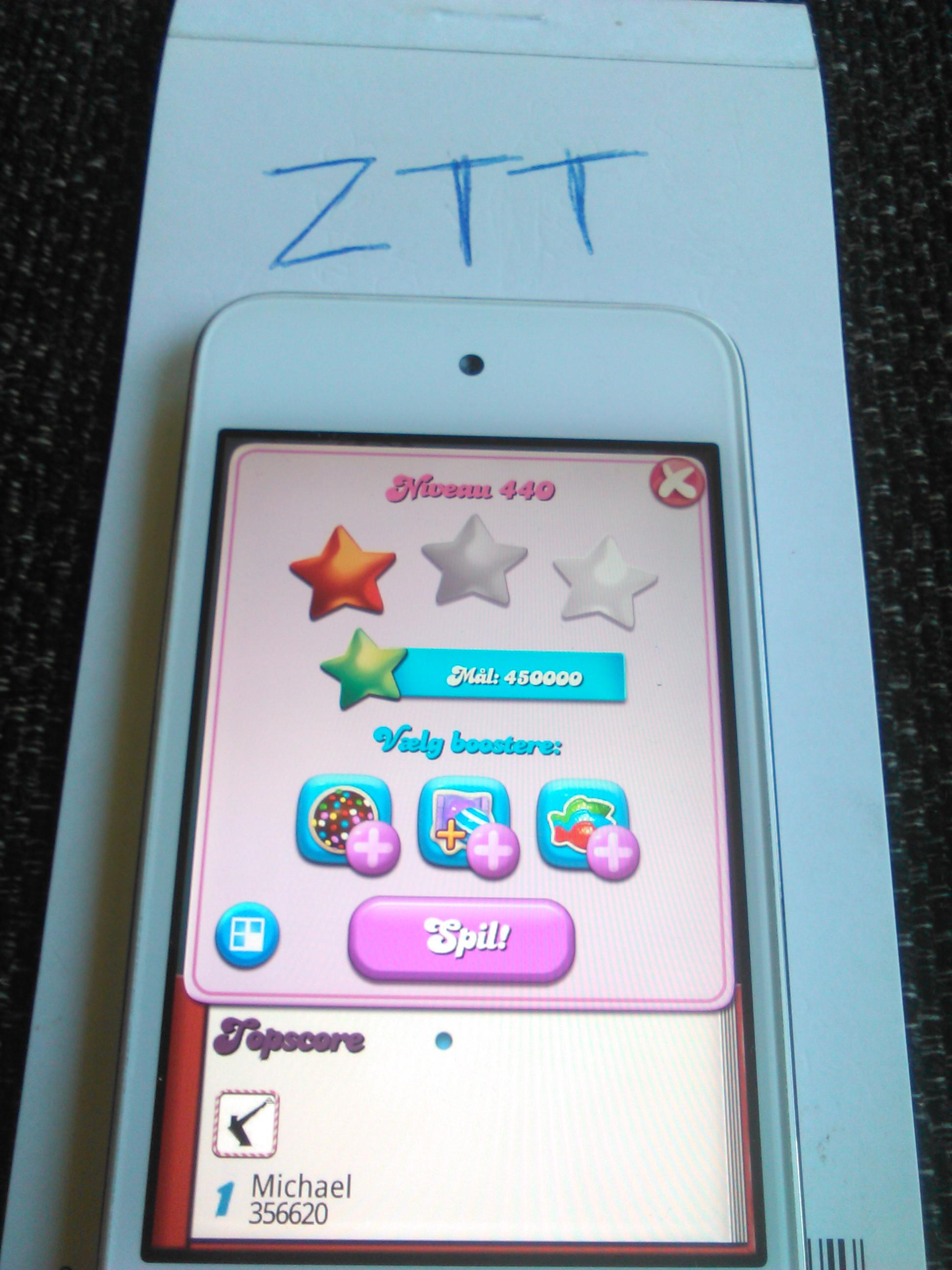 Candy Crush Saga: Level 440 356,620 points