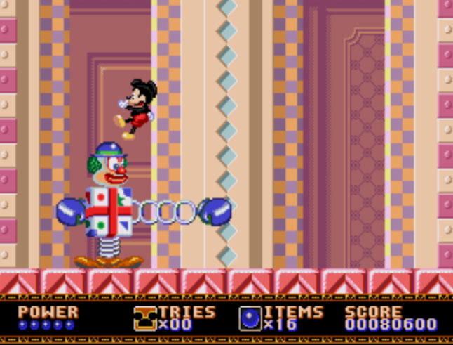 Castle Of Illusion: Starring Mickey Mouse [Normal] 80,600 points