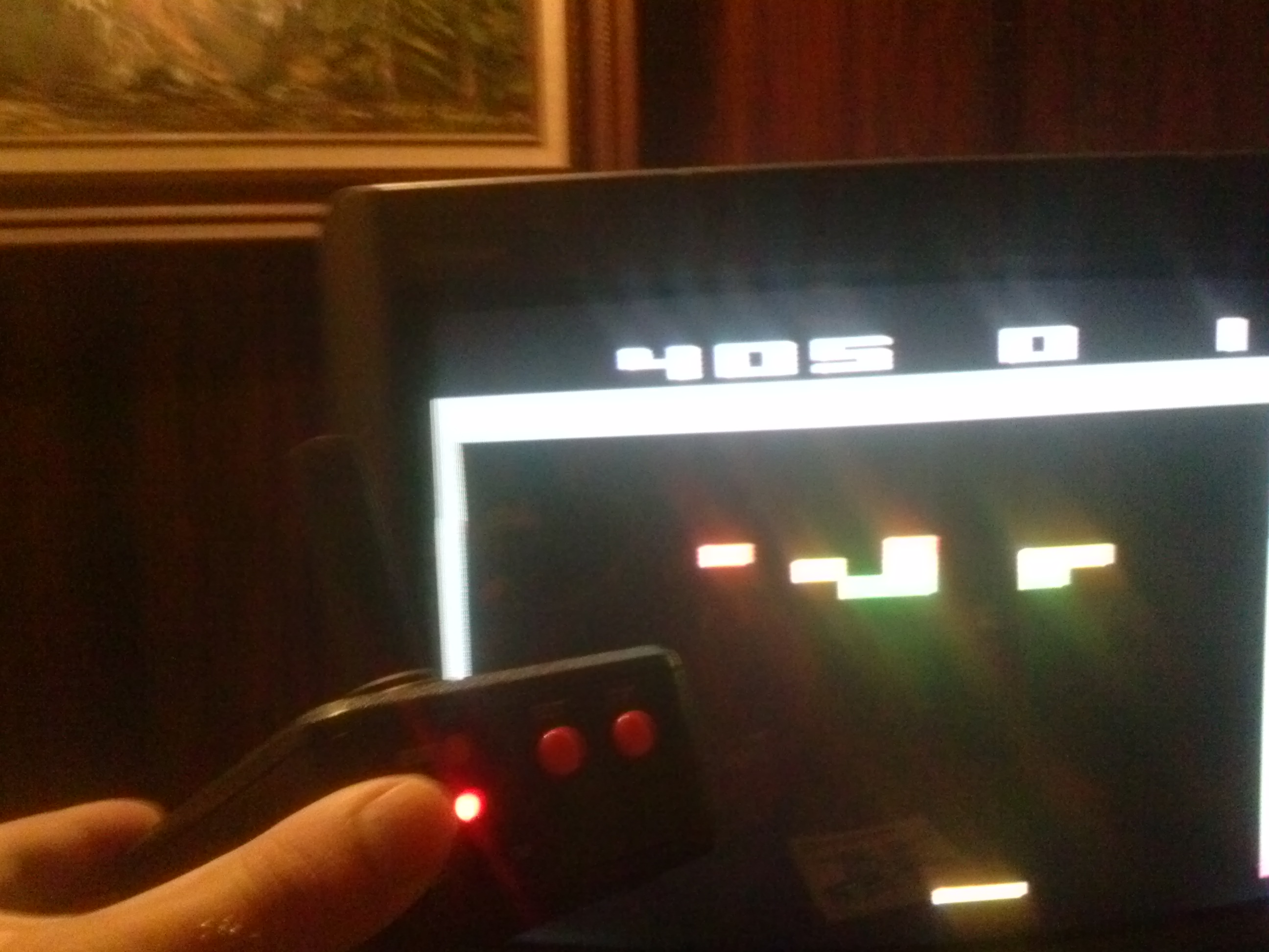 thedarkbanshee: Breakout (Jakks Pacific Atari TV Joystick) 405 points on 2014-09-09 12:26:36
