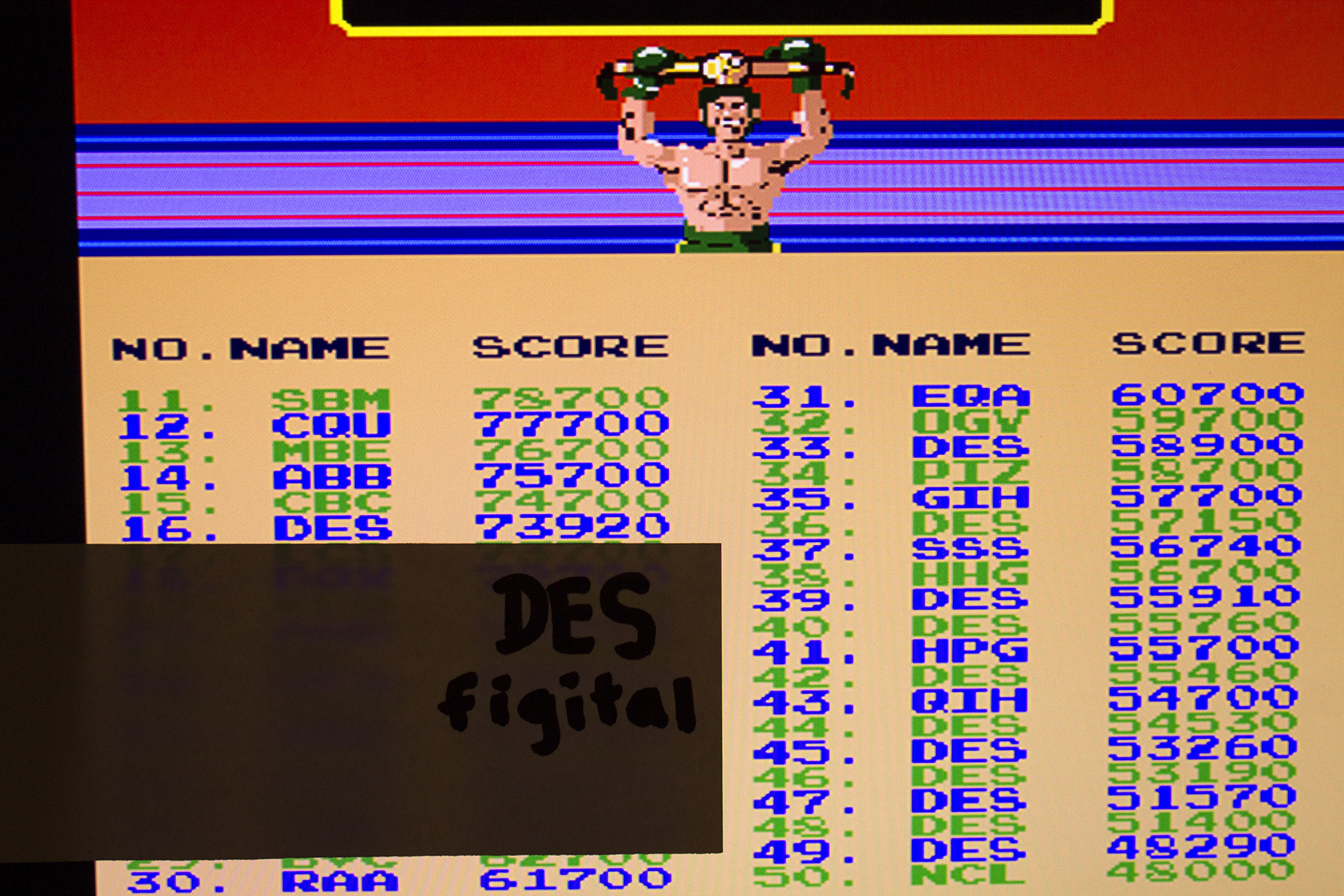 figital: Punch Out [punchout] (Arcade Emulated / M.A.M.E.) 73,920 points on 2014-09-09 13:21:00