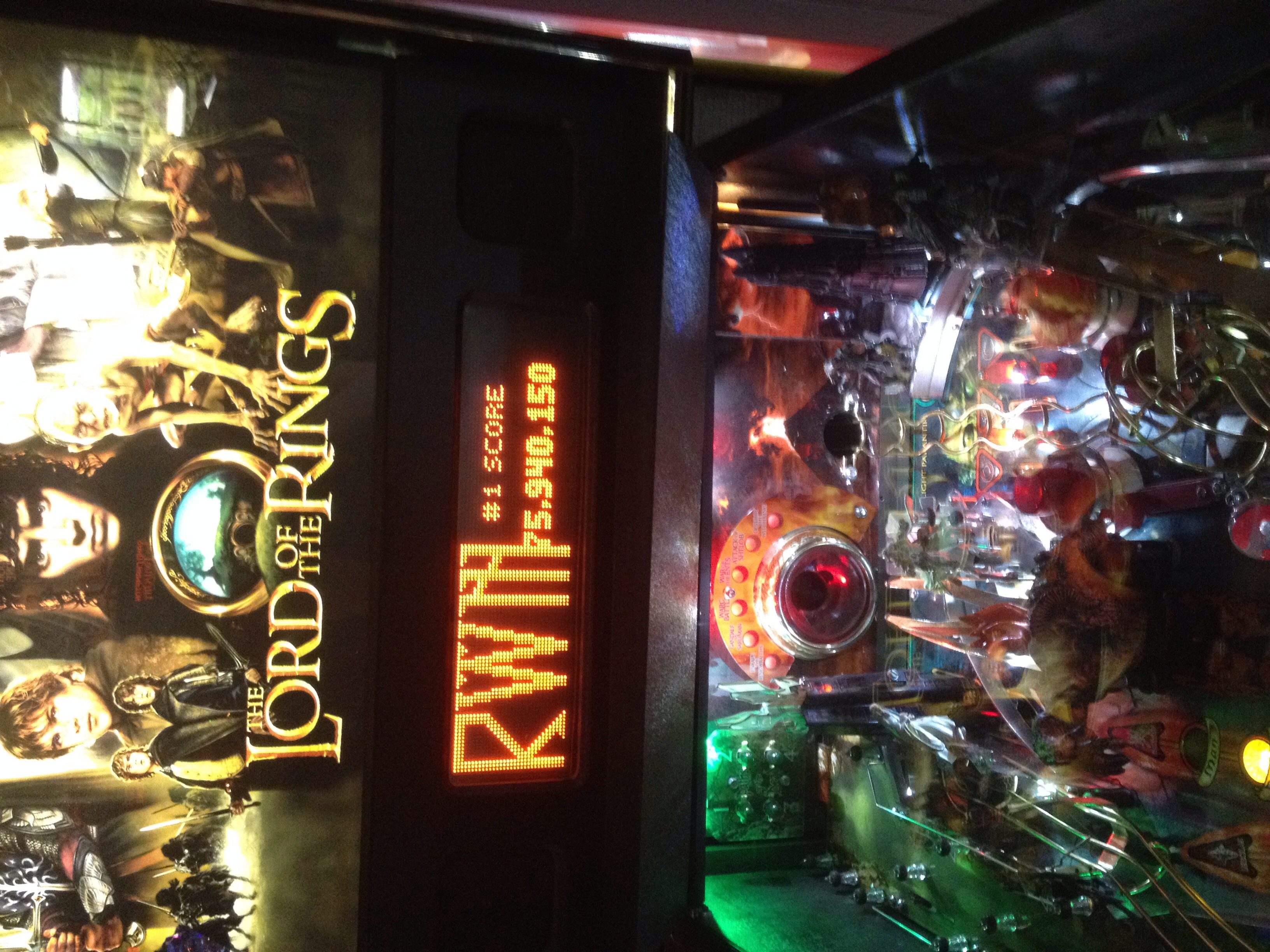Rachelwmo: The Lord of the Rings (Pinball: 3 Balls) 75,940,150 points on 2014-09-09 22:36:30