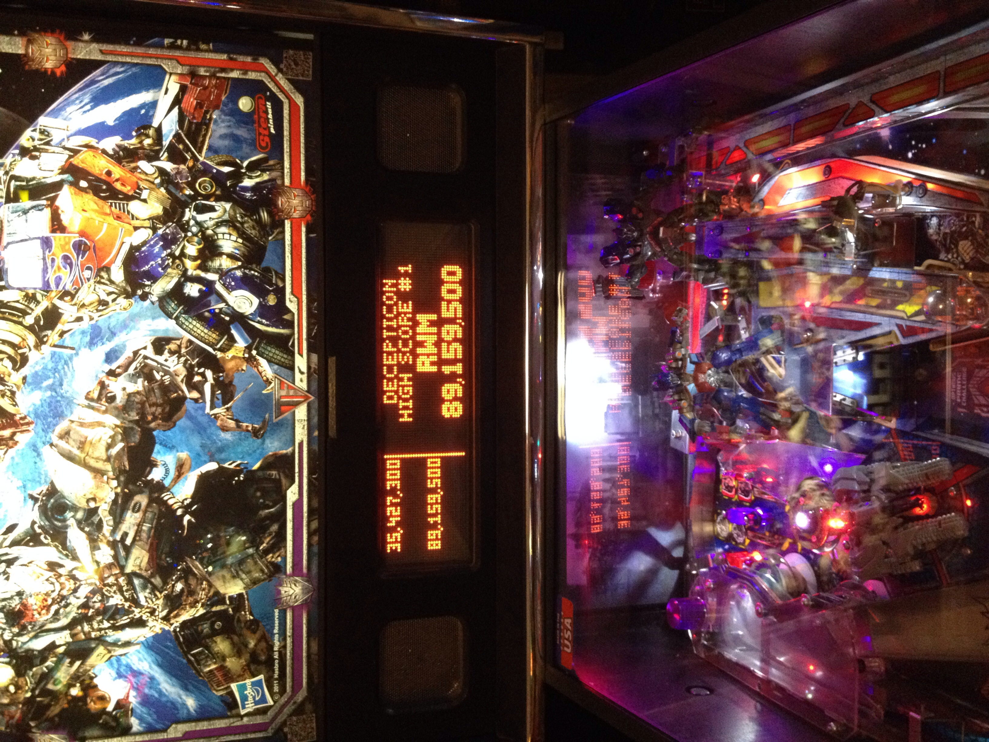 Rachelwmo: Transformers (Pinball: 3 Balls) 89,159,500 points on 2014-09-09 22:46:31