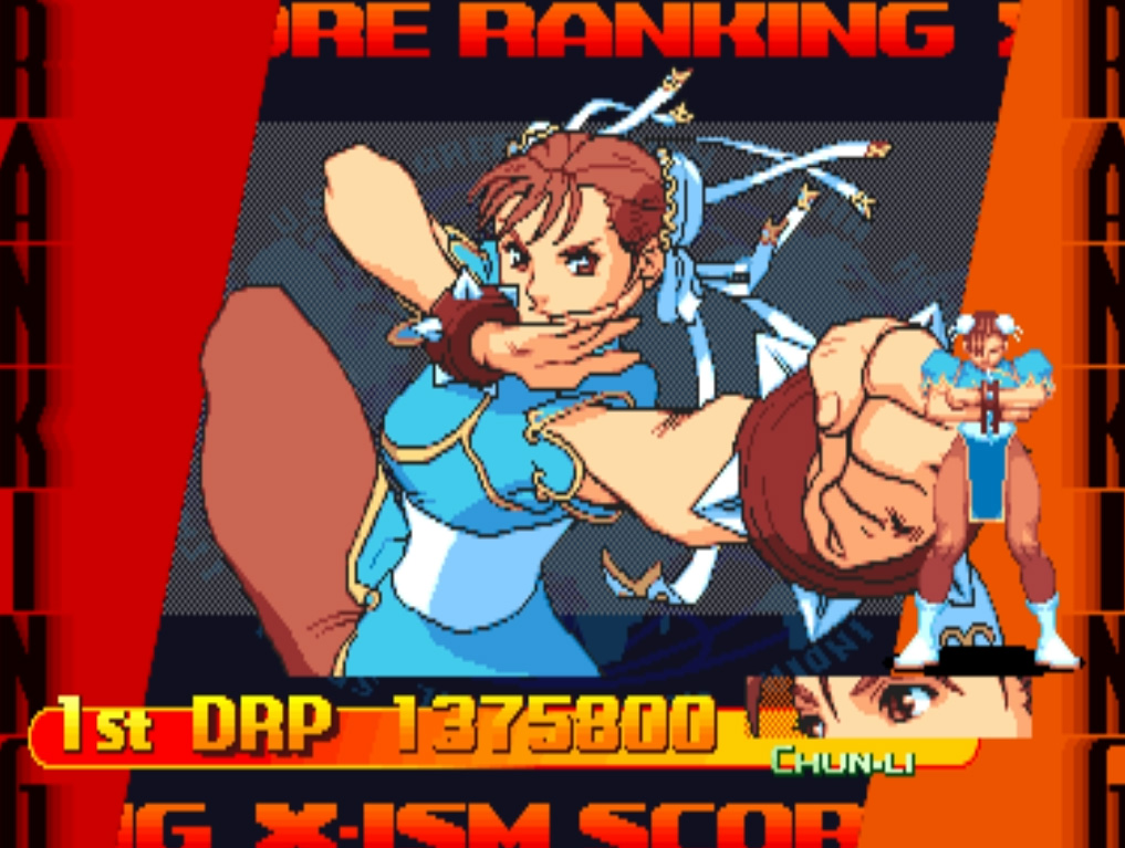 Scootablue: Street Fighter Alpha 3 [sfa3] (Arcade Emulated / M.A.M.E.) 1,375,800 points on 2014-09-10 09:11:41
