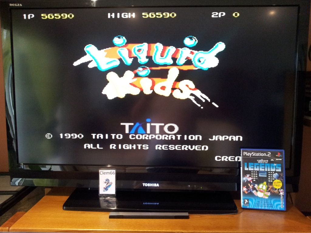 Clem66: Taito Legends 2: Liquid Kids [Easy] (Playstation 2) 56,590 points on 2014-09-10 11:52:37