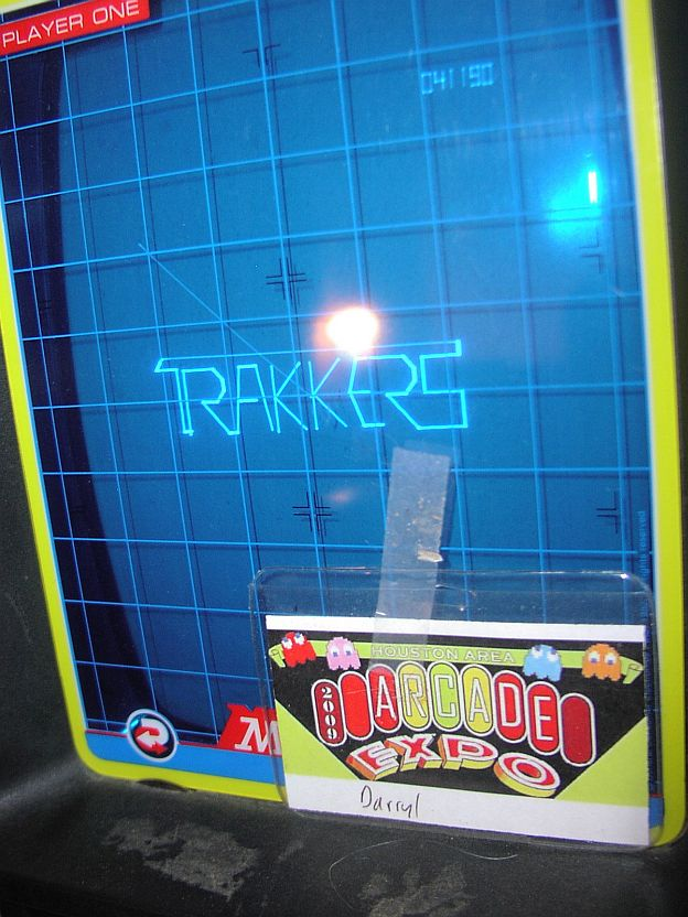 DarrylB: Trakkers (Vectrex) 41,190 points on 2014-09-10 16:02:42