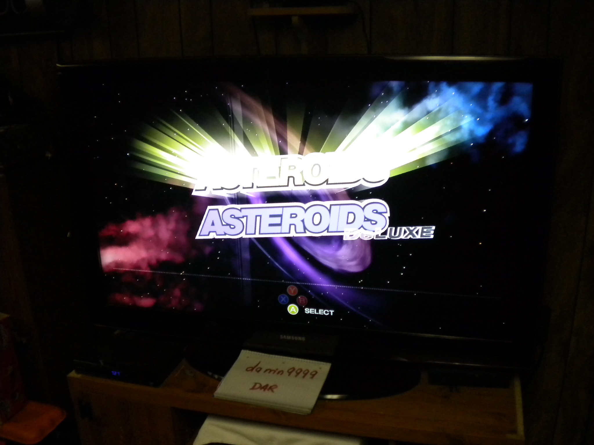 Asteroids [Normal] 5,100 points