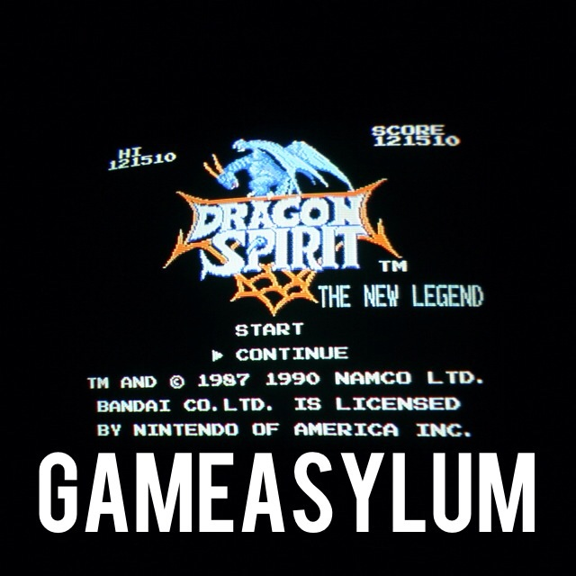 GameAsylum: Dragon Spirit (NES/Famicom) 121,510 points on 2014-09-12 18:51:51