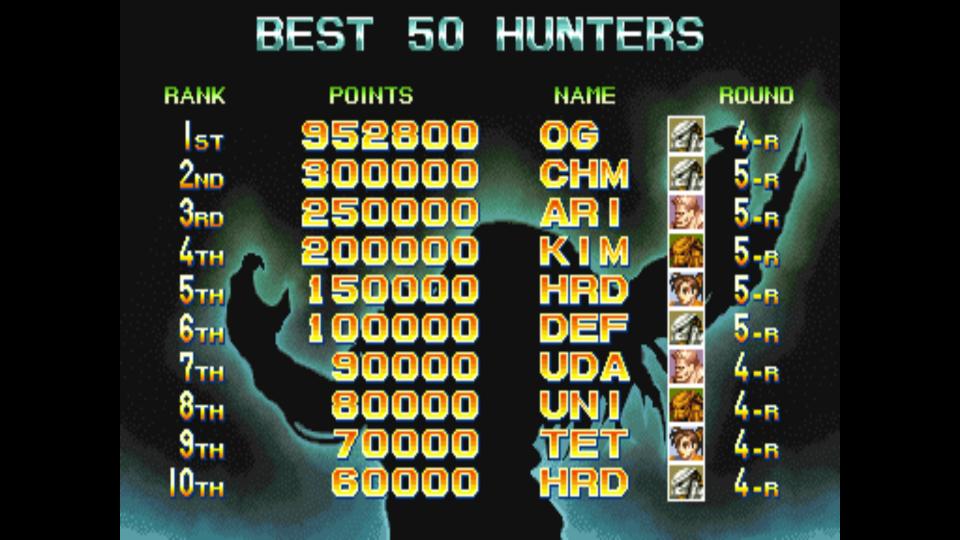 Alien Vs. Predator [avsp] 952,800 points