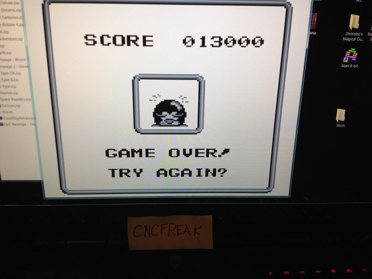Penguin Wars 13,000 points