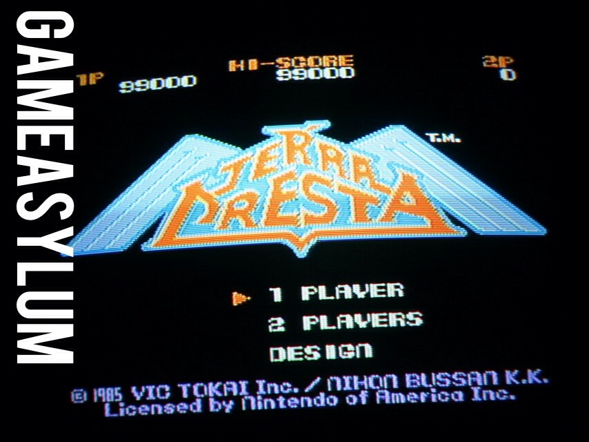 GameAsylum: Terra Cresta (NES/Famicom) 99,000 points on 2014-09-13 00:00:31