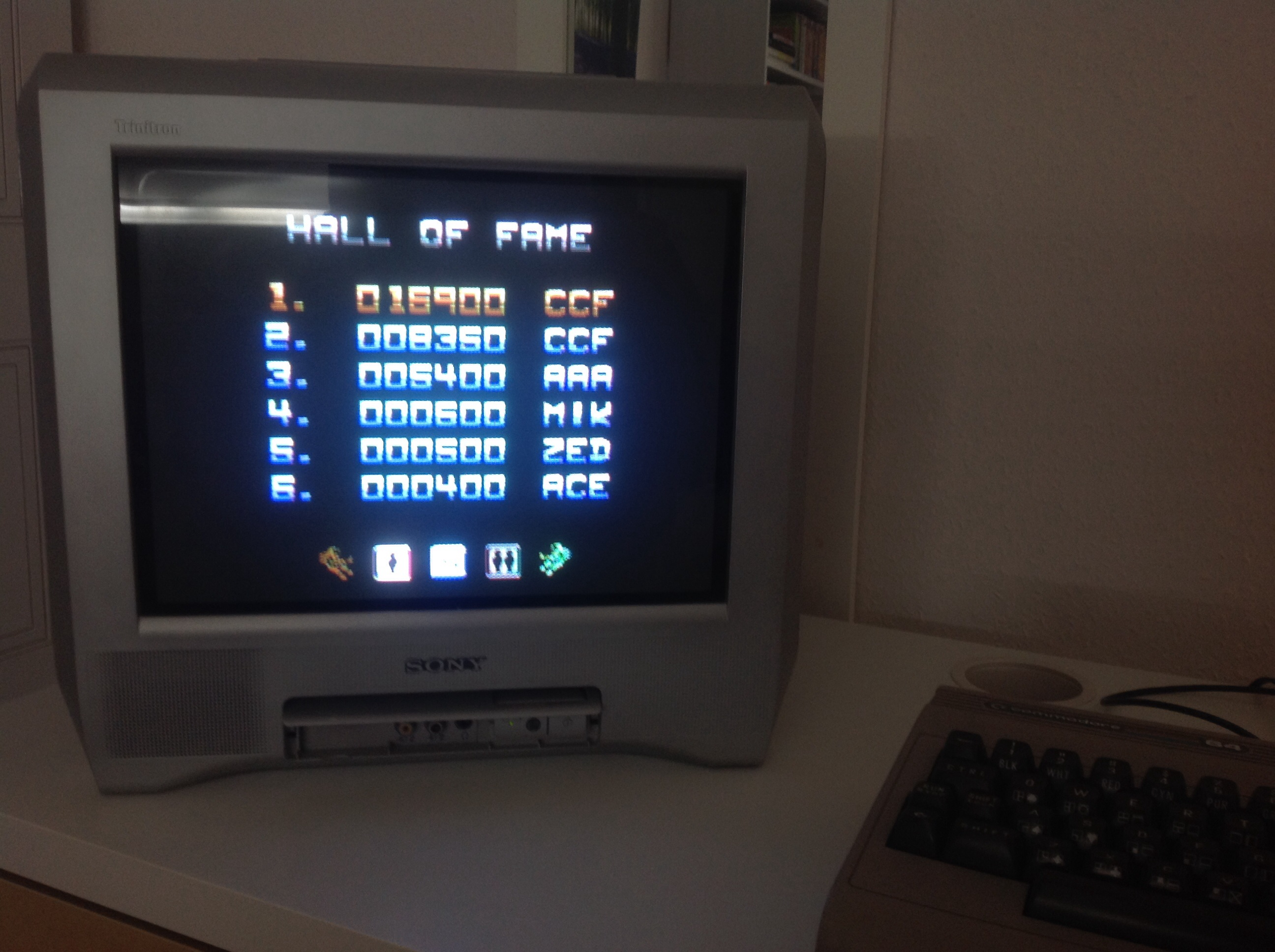 CoCoForest: Zybex (Commodore 64) 16,900 points on 2014-09-13 06:23:48