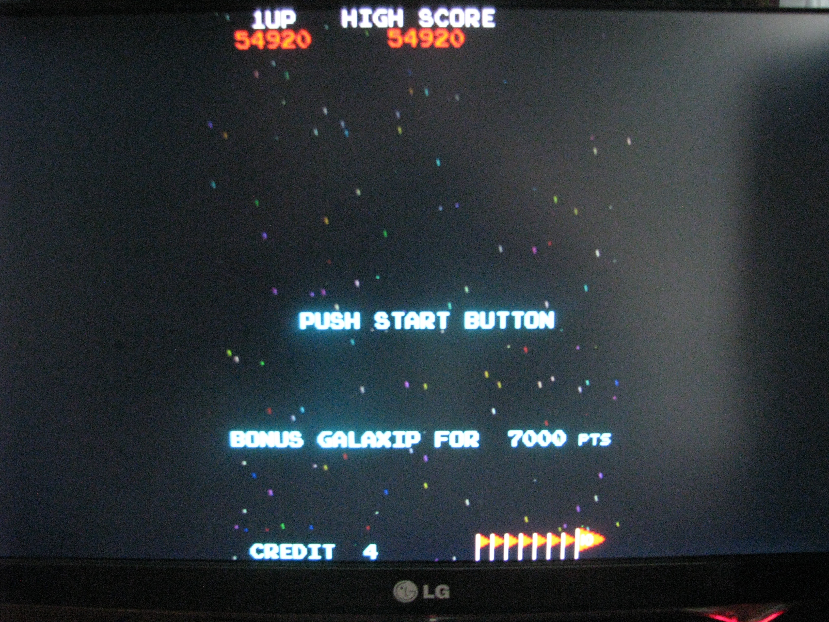 NorthCoastGamer: Galaxian (Arcade Emulated / M.A.M.E.) 54,920 points on 2014-09-13 12:10:39