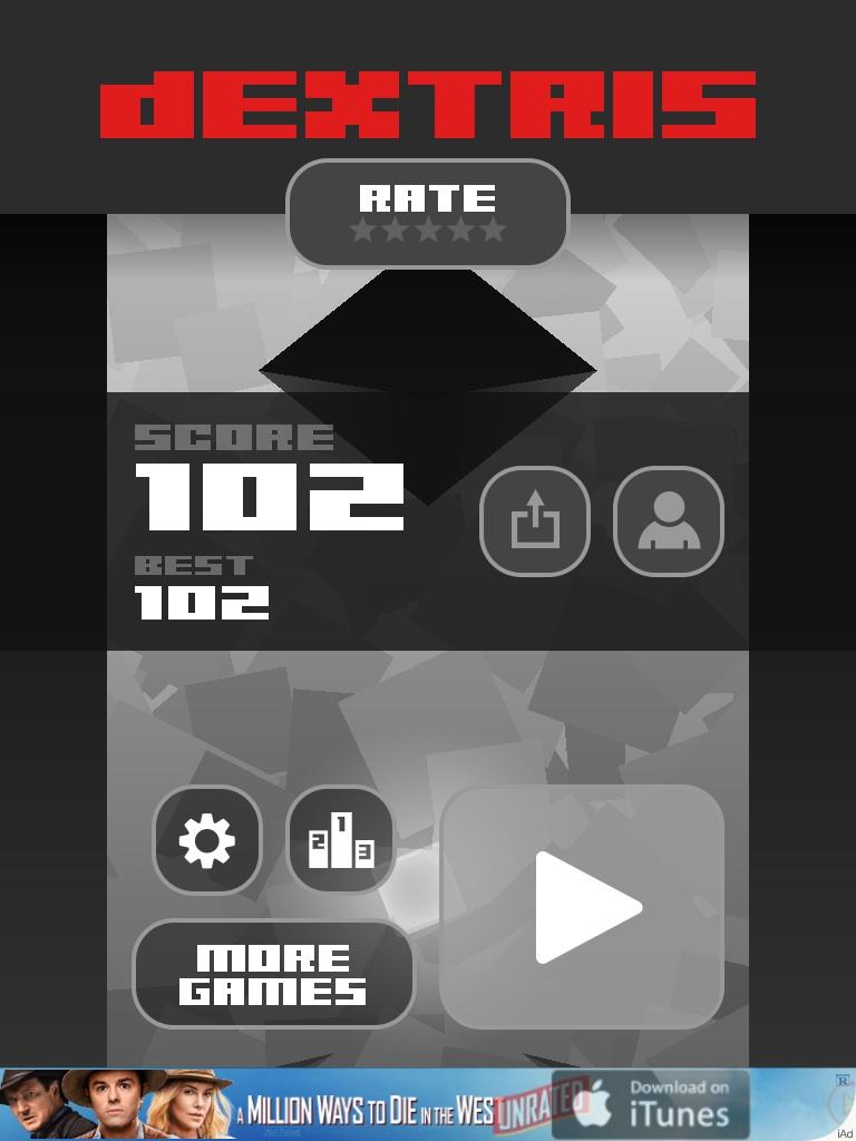 Dextris 102 points