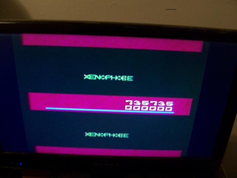 Xenophobe 735,735 points