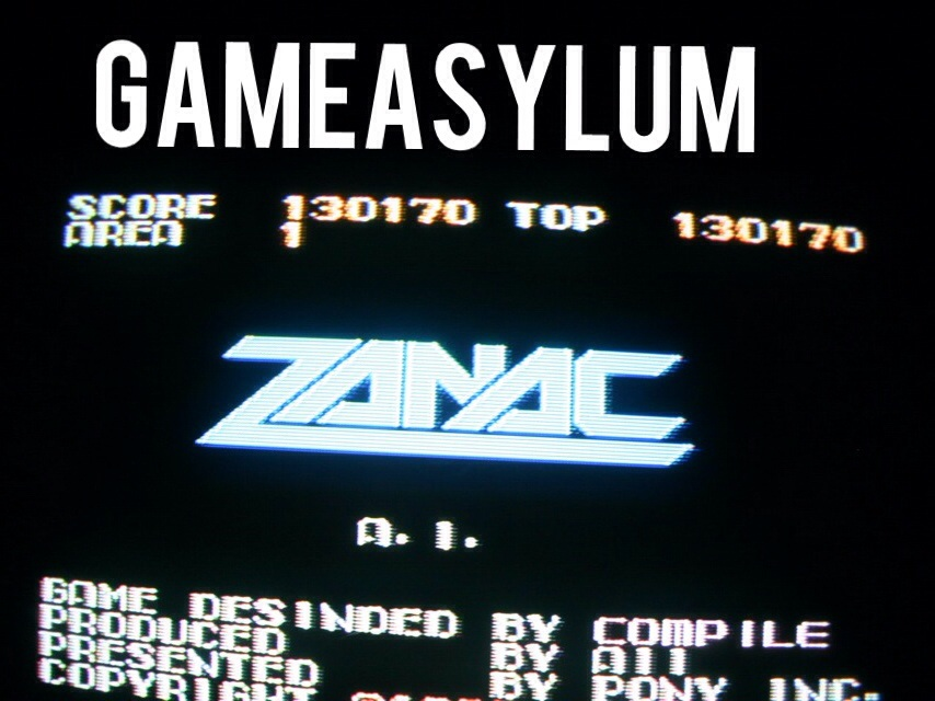 GameAsylum: Zanac (NES/Famicom) 130,170 points on 2014-09-14 20:03:15