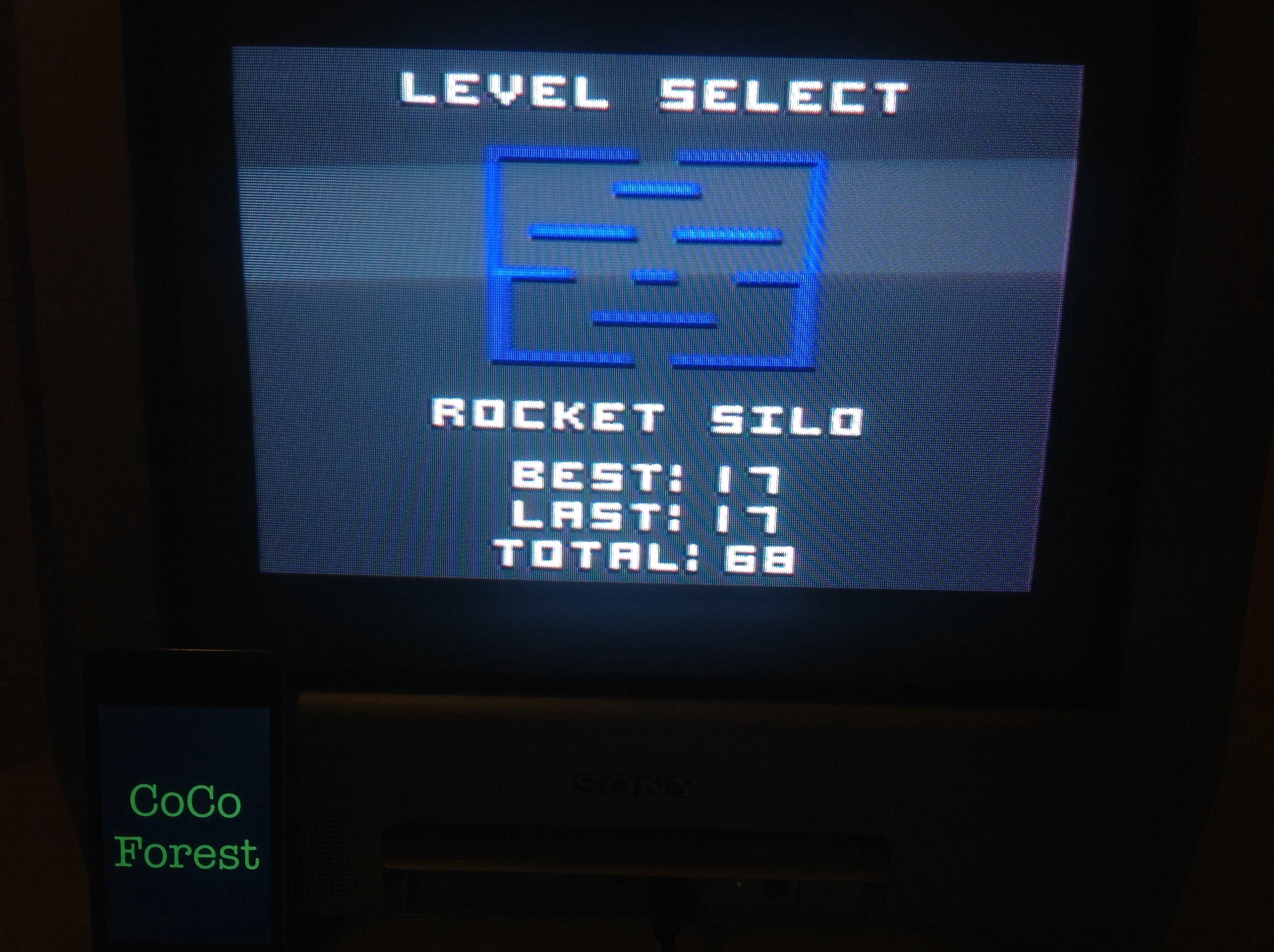 CoCoForest: Super Bread Box: Rocket Silo (Commodore 64) 17 points on 2014-09-15 14:29:53
