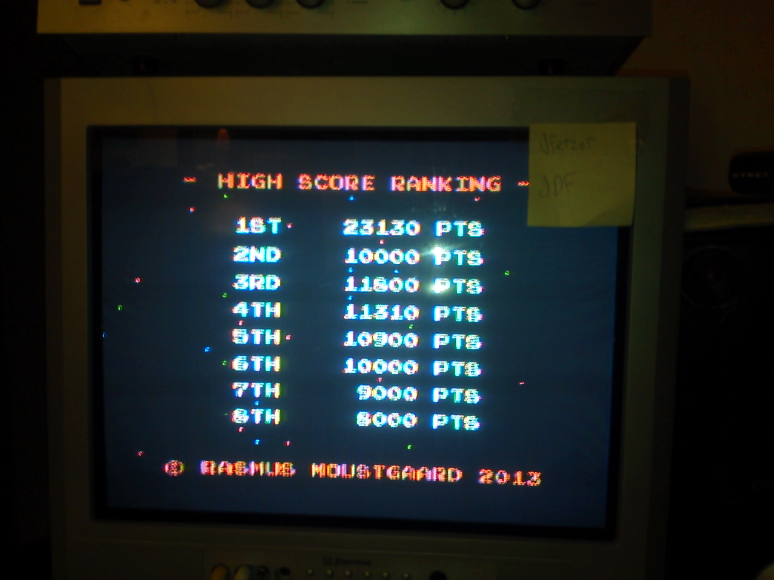 jfetzer: TI Scramble (TI 99/4A) 23,130 points on 2014-09-15 18:07:10