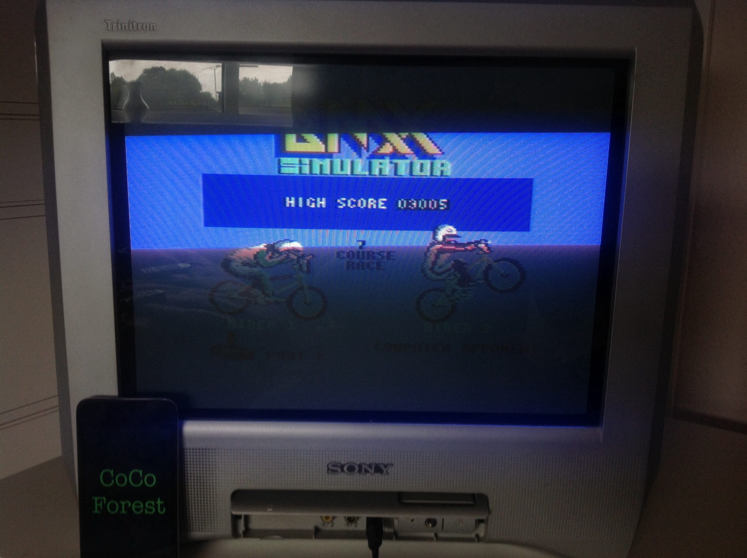 CoCoForest: BMX Simulator (Commodore 64) 3,005 points on 2014-09-16 07:49:39
