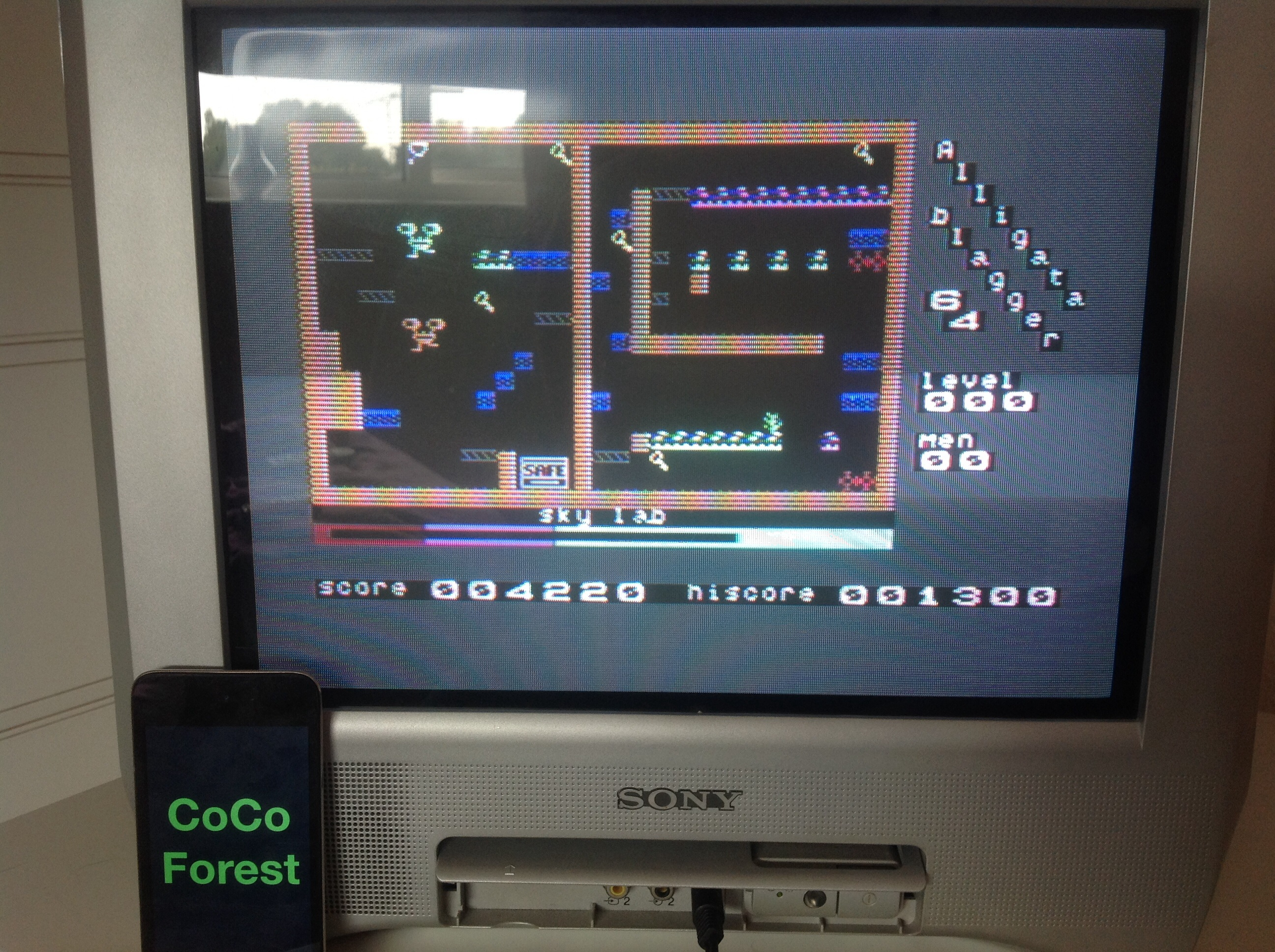 CoCoForest: Blagger (Commodore 64) 4,220 points on 2014-09-16 08:01:55