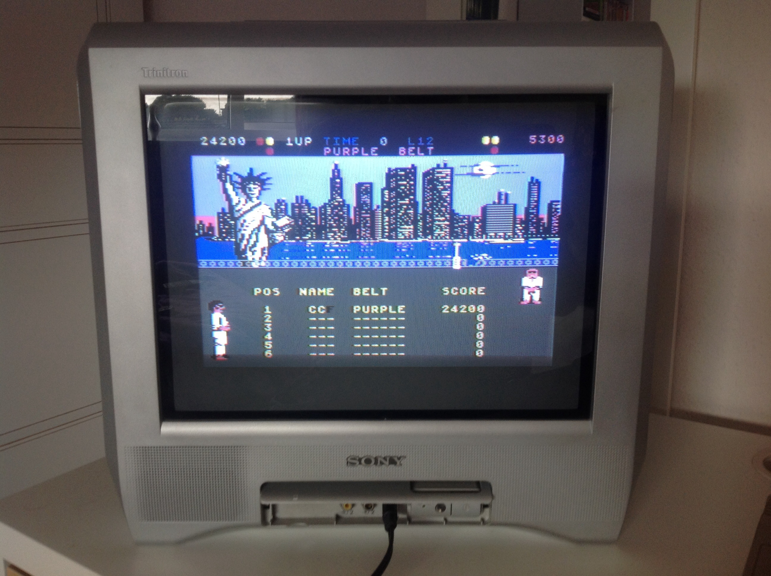 CoCoForest: International Karate (Commodore 64) 24,200 points on 2014-09-16 10:07:31