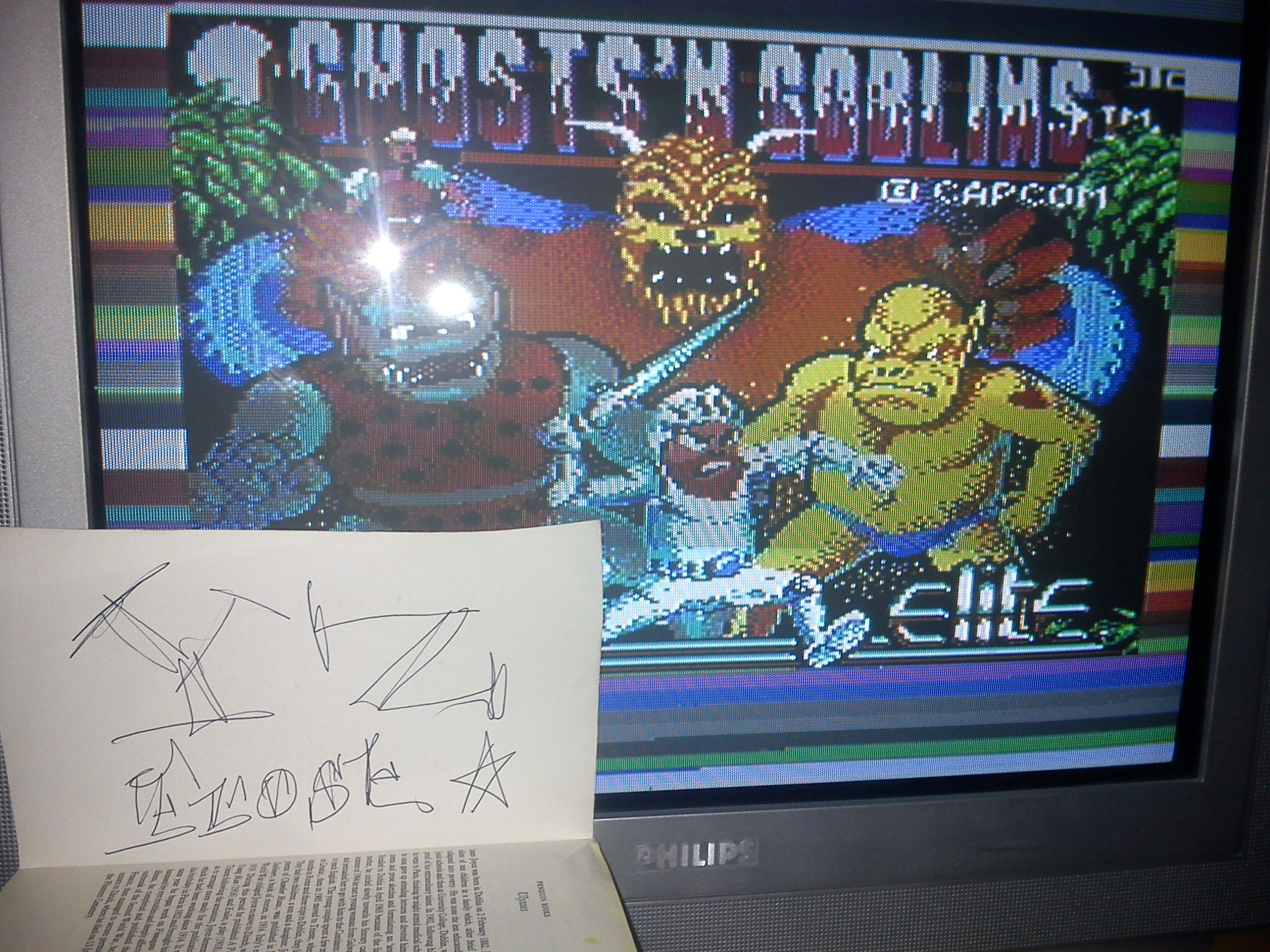 Fr0st: Ghosts N Goblins (Commodore 64) 4,700 points on 2014-09-17 02:48:22