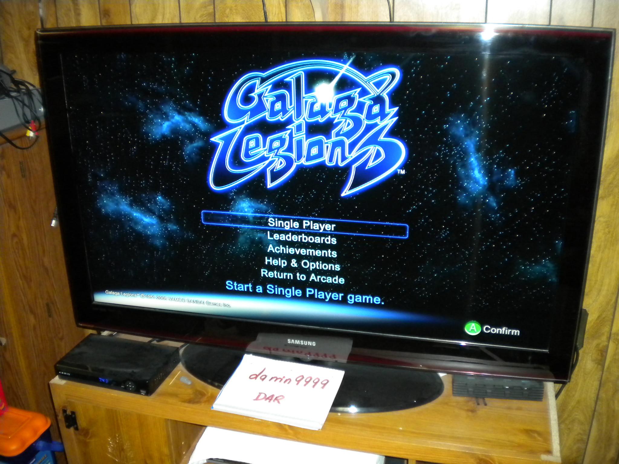 Galaga Legion: Adventure 2,357,830 points