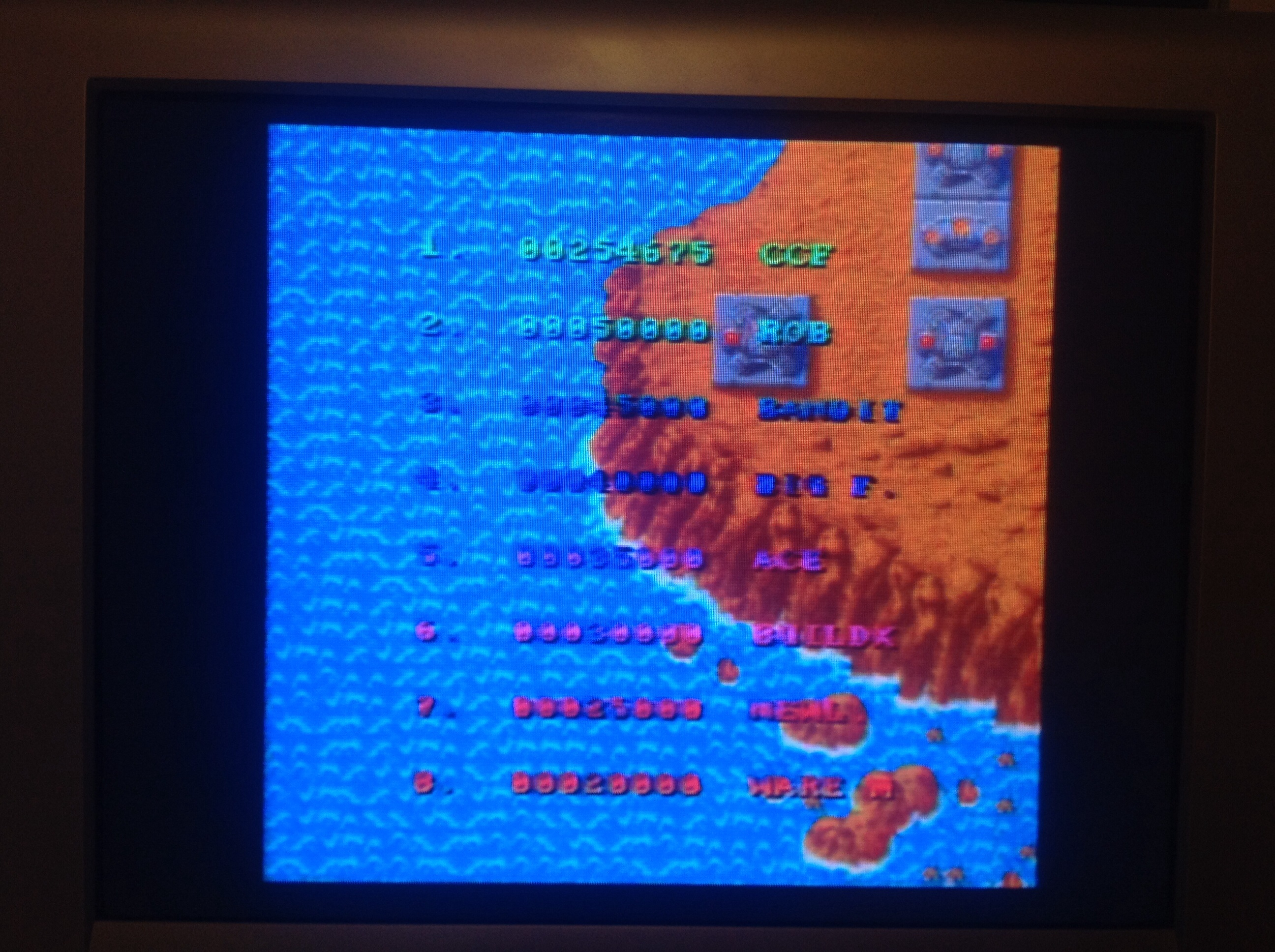 CoCoForest: Hybris (Amiga) 254,675 points on 2014-09-17 13:27:14
